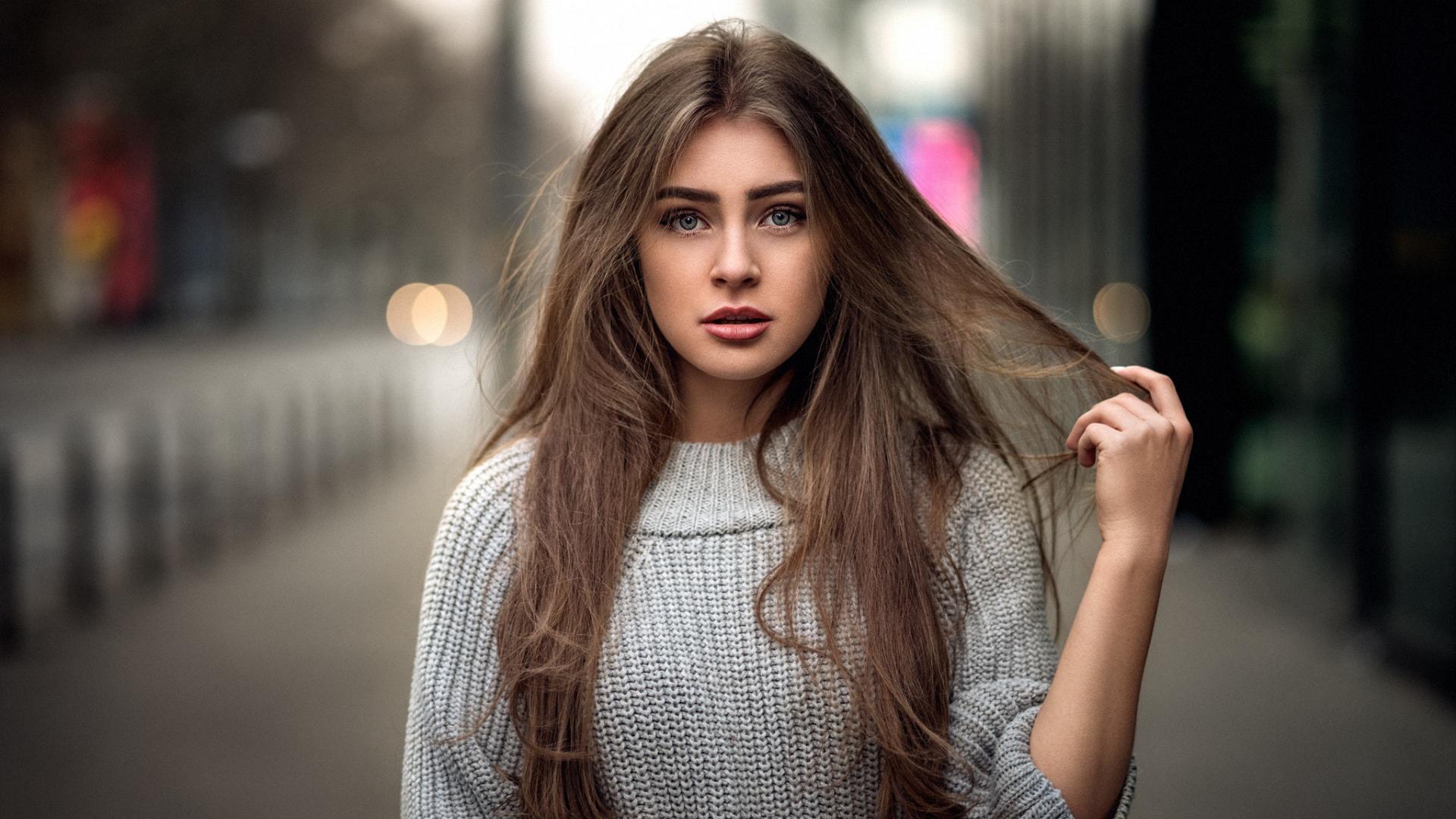 Download Hot girl model, beautiful wallpaper, 1080x1920