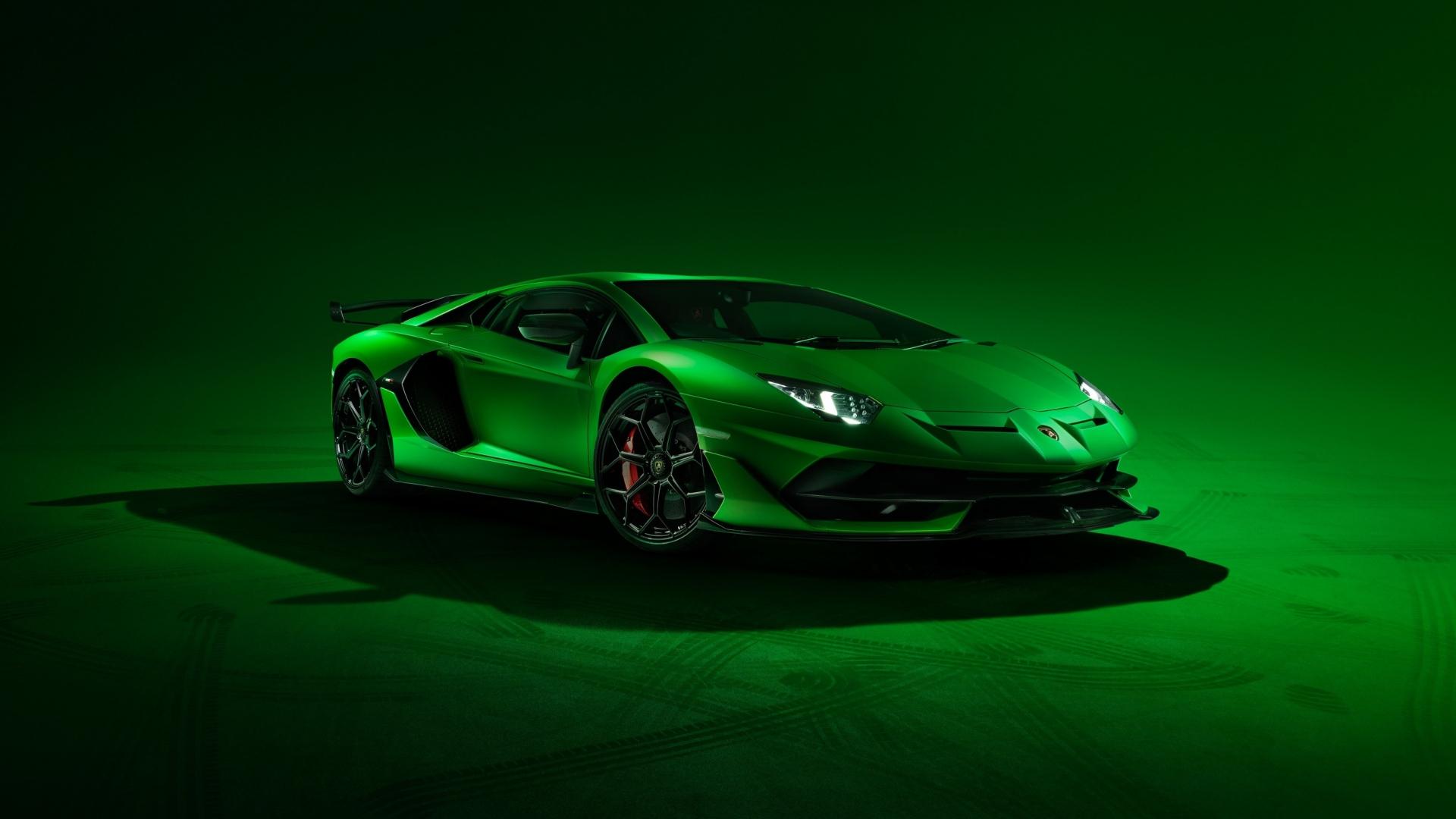 Download 1920x1080 Wallpaper Lamborghini Aventador Svj Sports Car