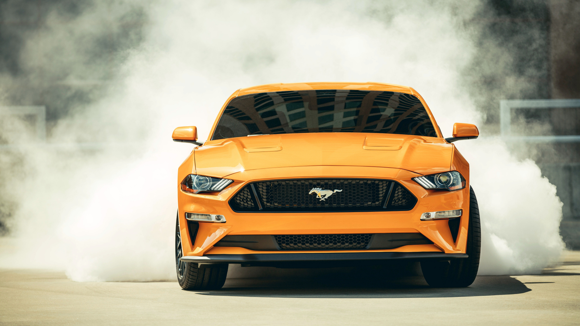 Download 1920x1080 Wallpaper 2018 Ford Mustang Gt