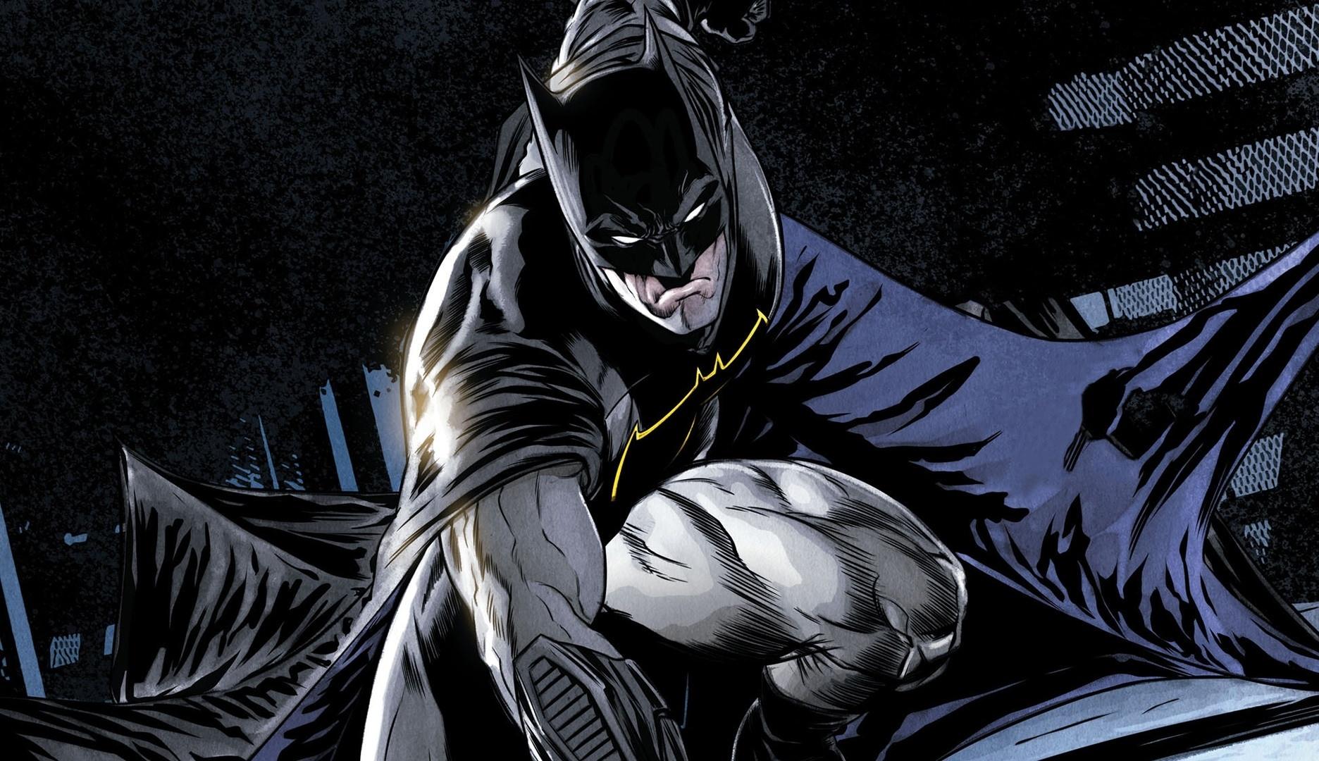 Comics, batman, dark knight, superhero, 1920x1080 wallpaper