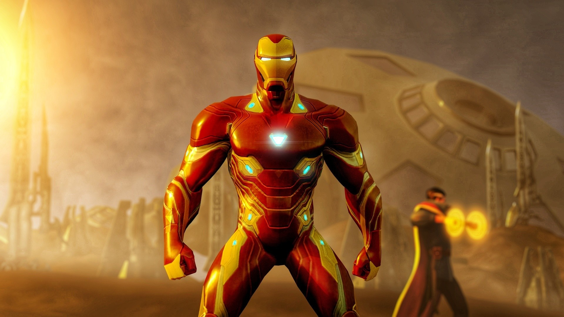 Download 1920x1080 Wallpaper Iron Man Vibranium Suit
