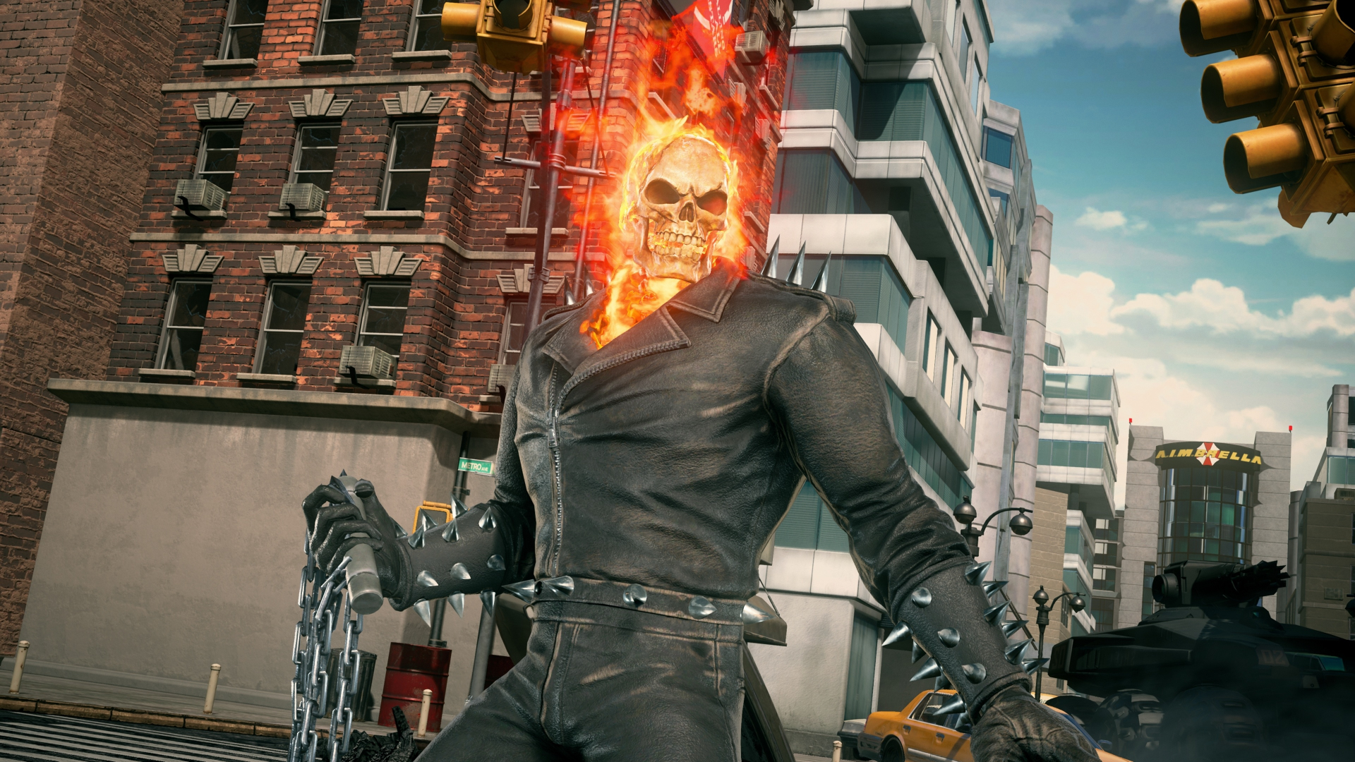 Download 1920x1080 Wallpaper Ghost Rider New Marvel Vs Capcom