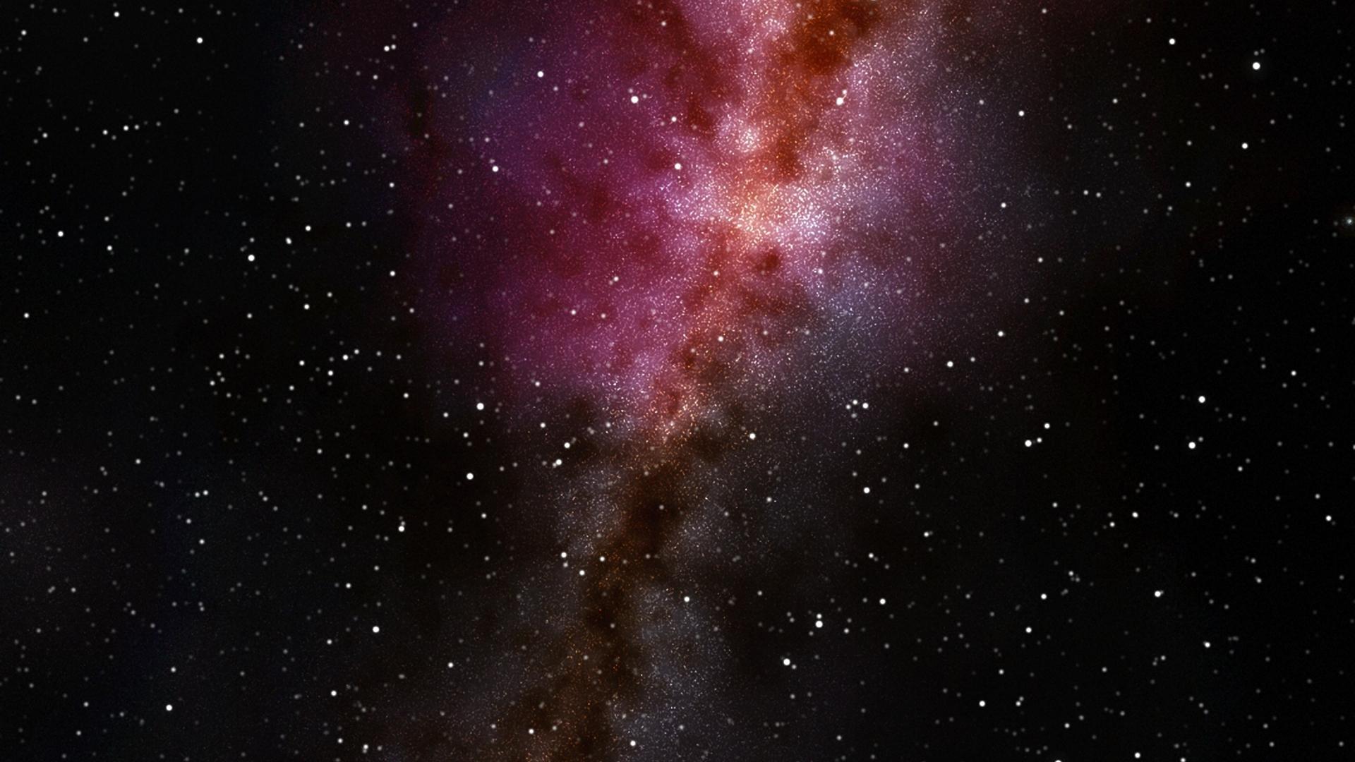 cosmos colorful galaxy stars artwork