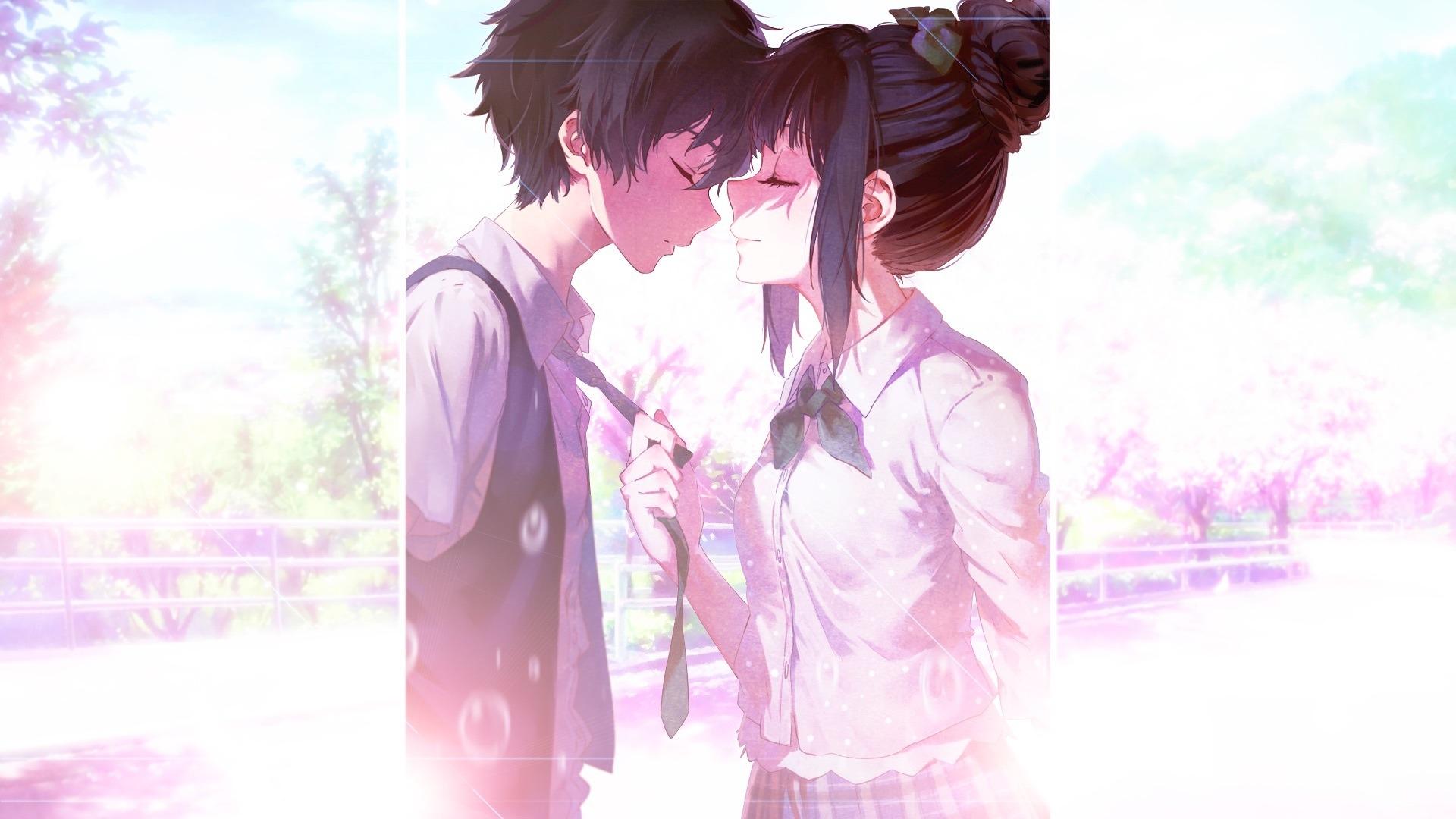 Download 1920x1080 wallpaper anime, couple, eru chitanda ...