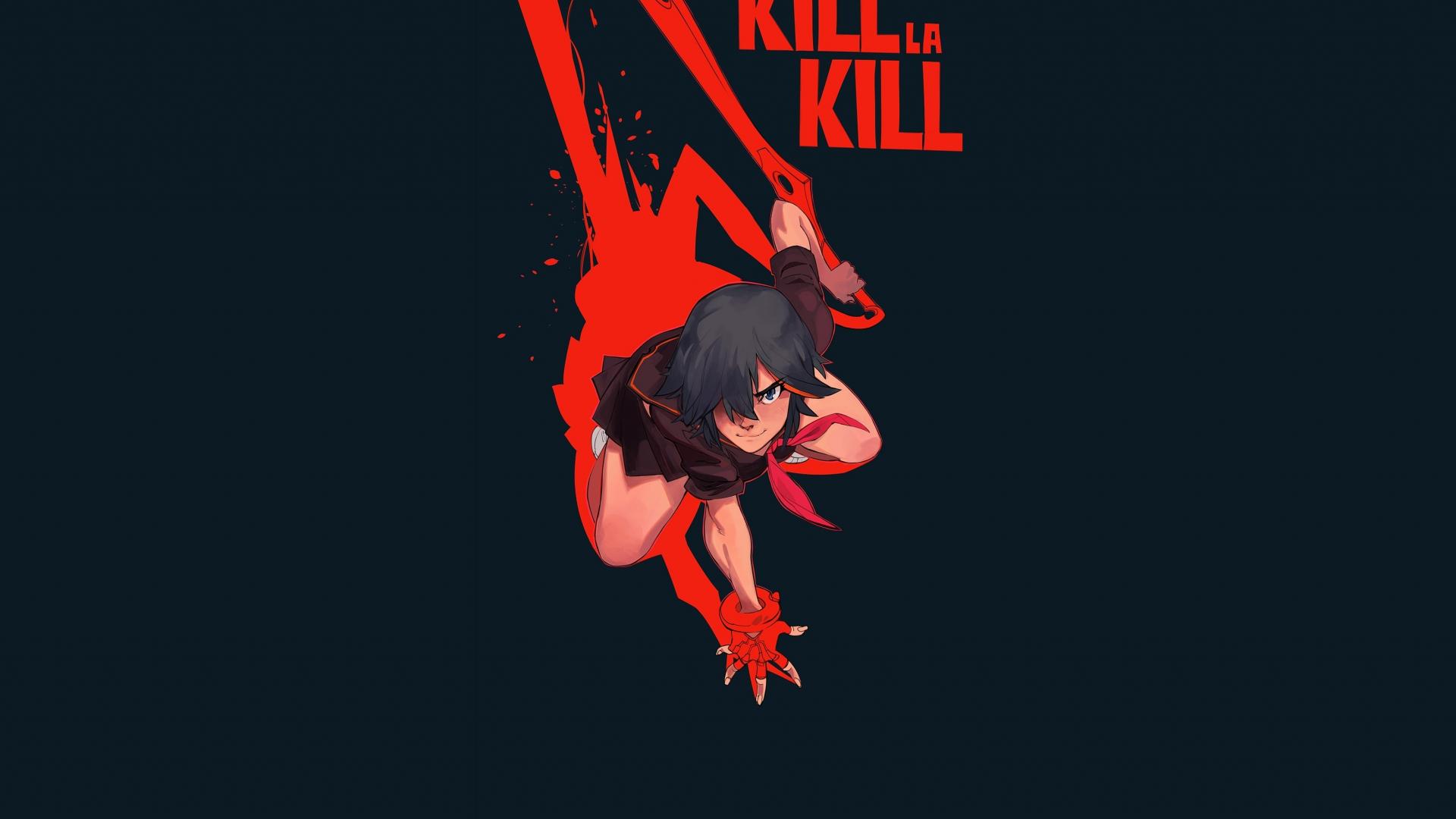 Download 1920x1080 Wallpaper Ryuko Matoi Kill La Kill Anime Girl