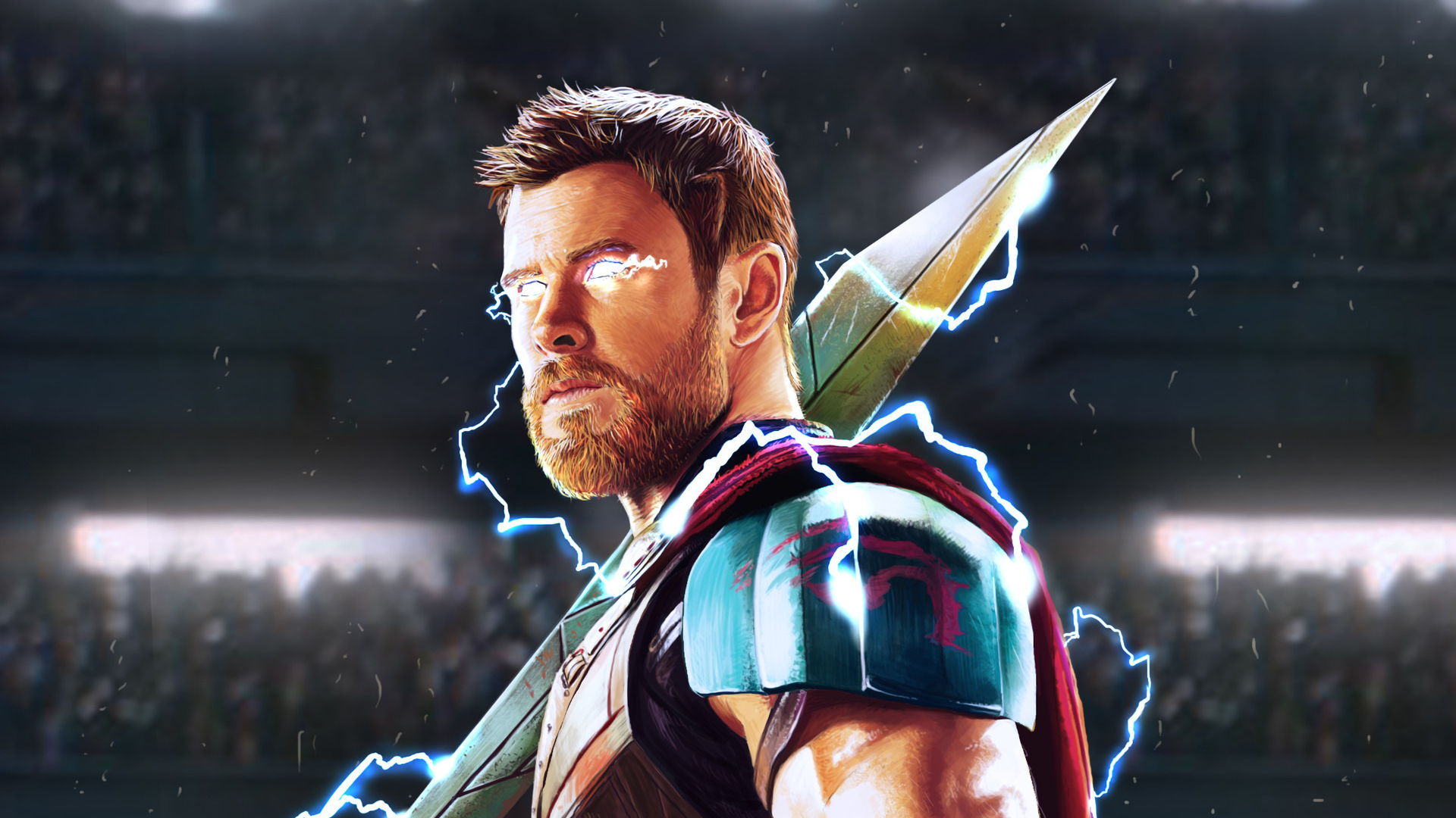Download 1920x1080 wallpaper thor god of thunder artwork full hd hdtv fhd 1080p 1920x1080 - 1366x768 is 720p or 1080p ...