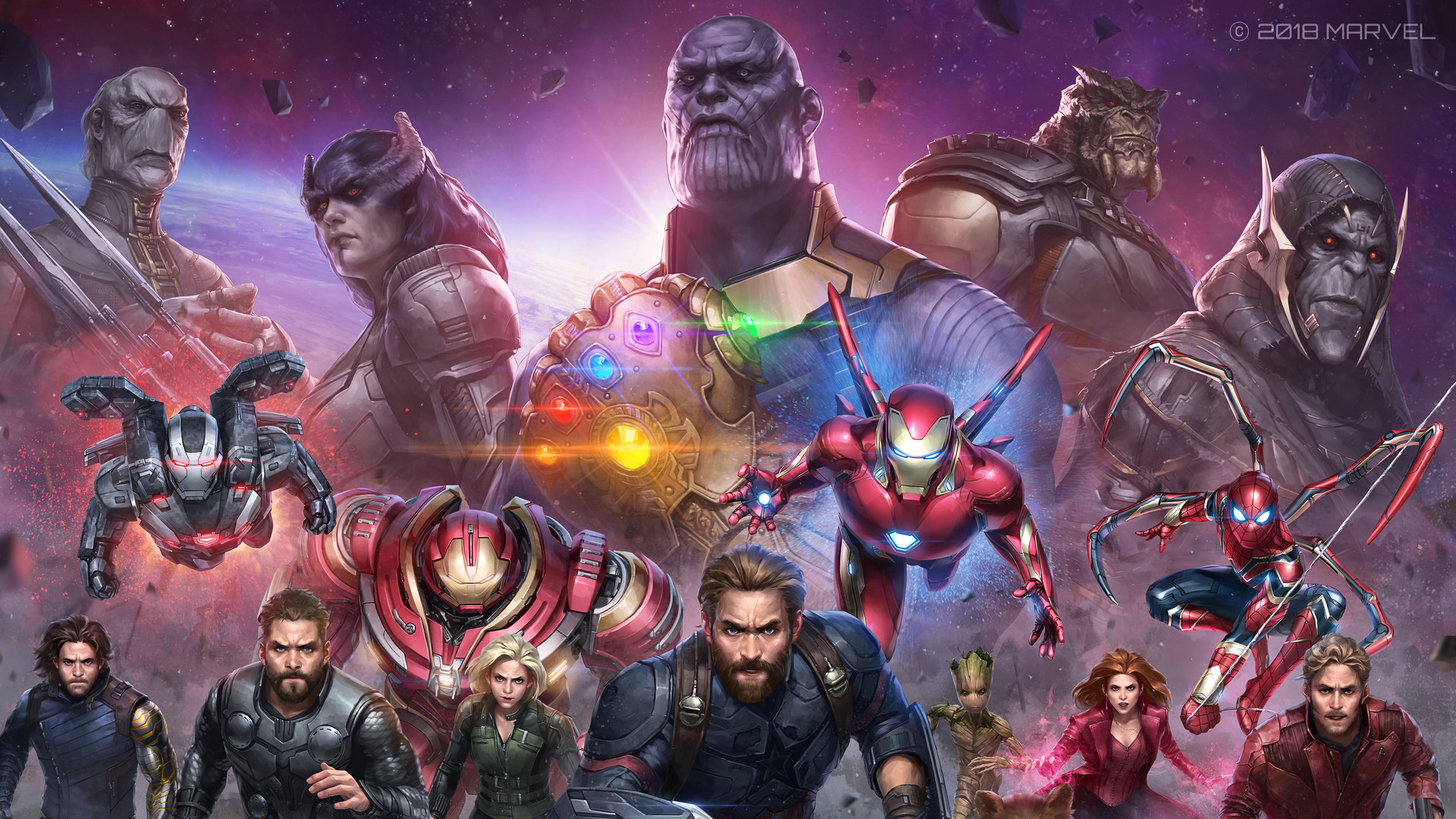 Download 1920x1080 wallpaper avengers: infinity war ...