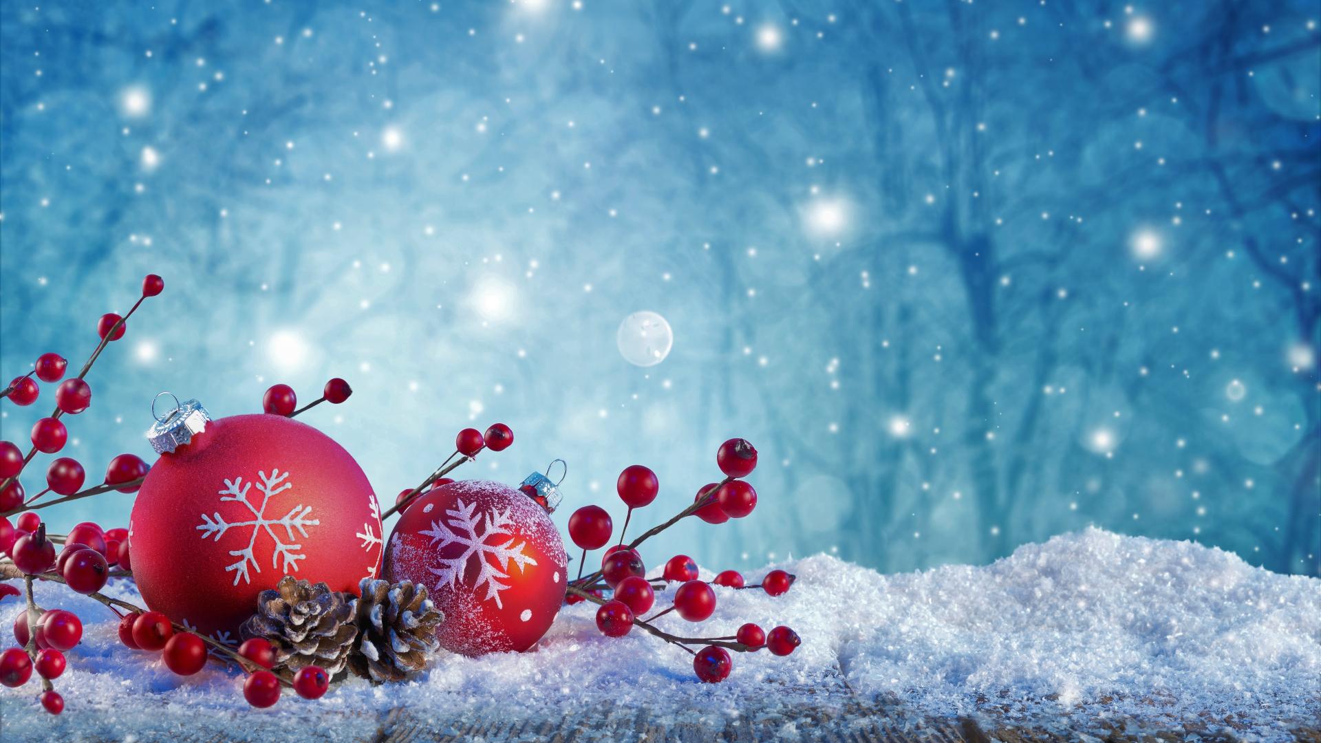 Download 1920x1080 wallpaper christmas, ornaments ...