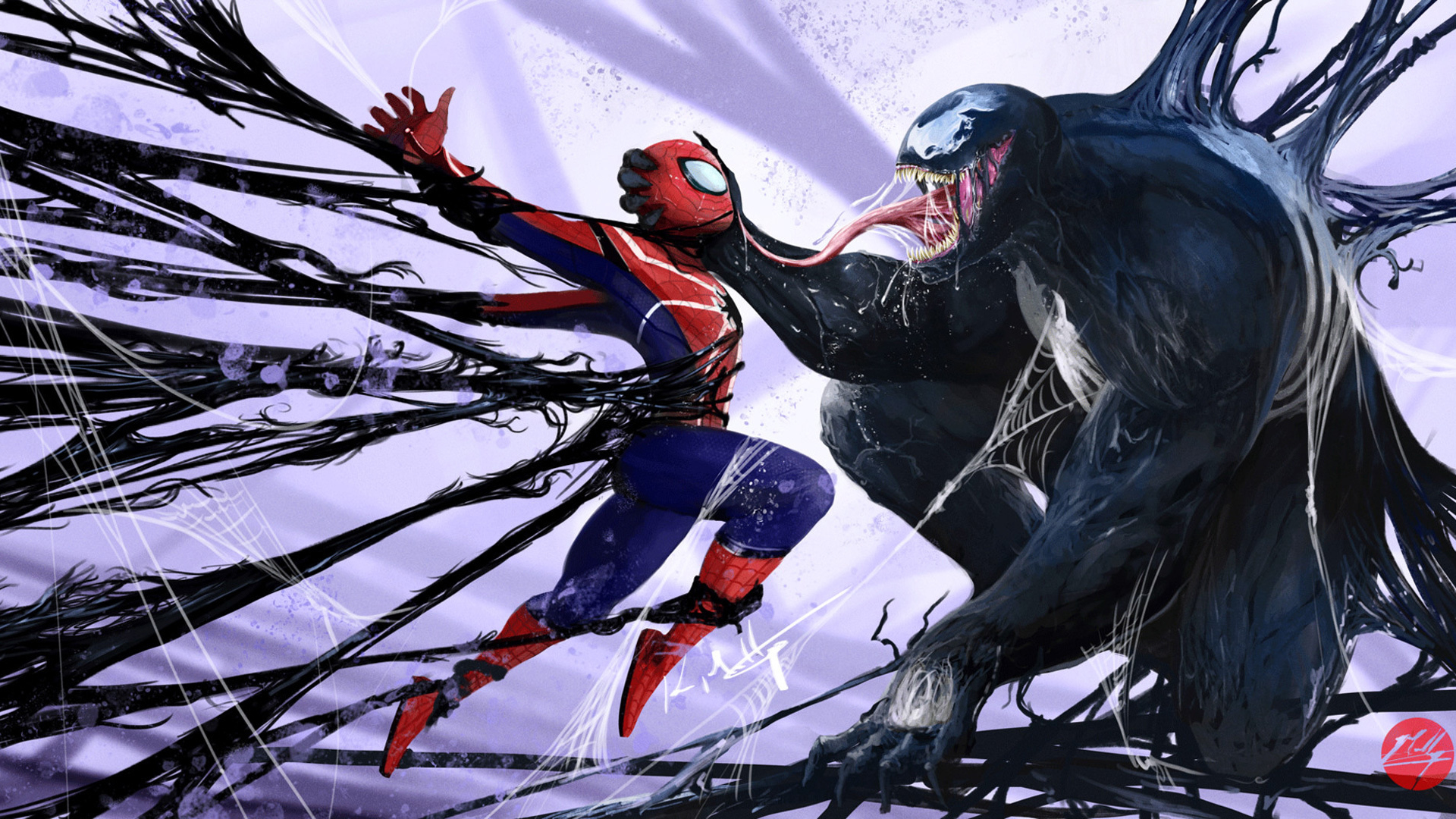 Images Of Spiderman Venom Wallpaper Rock Cafe