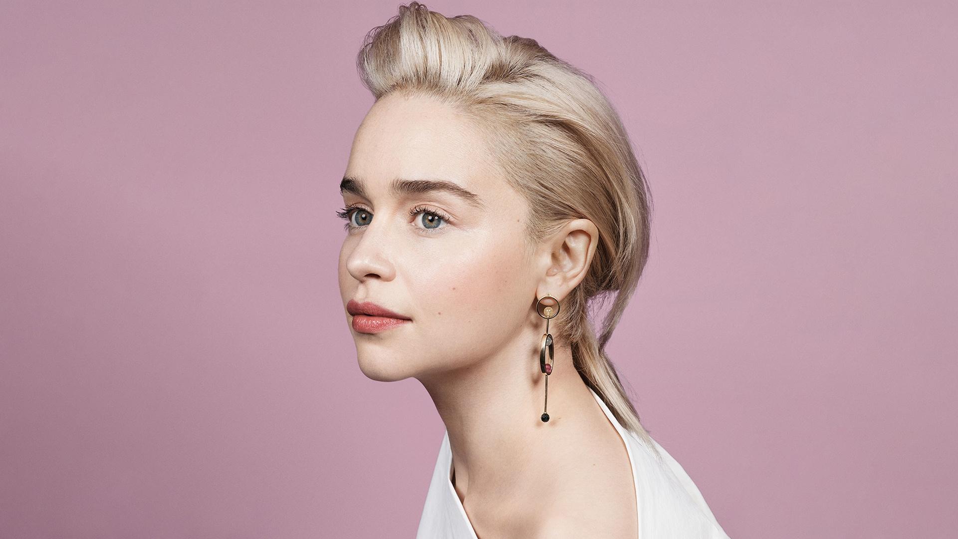 Download 1920x1200 Wallpaper Emilia Clarke Beautiful Face