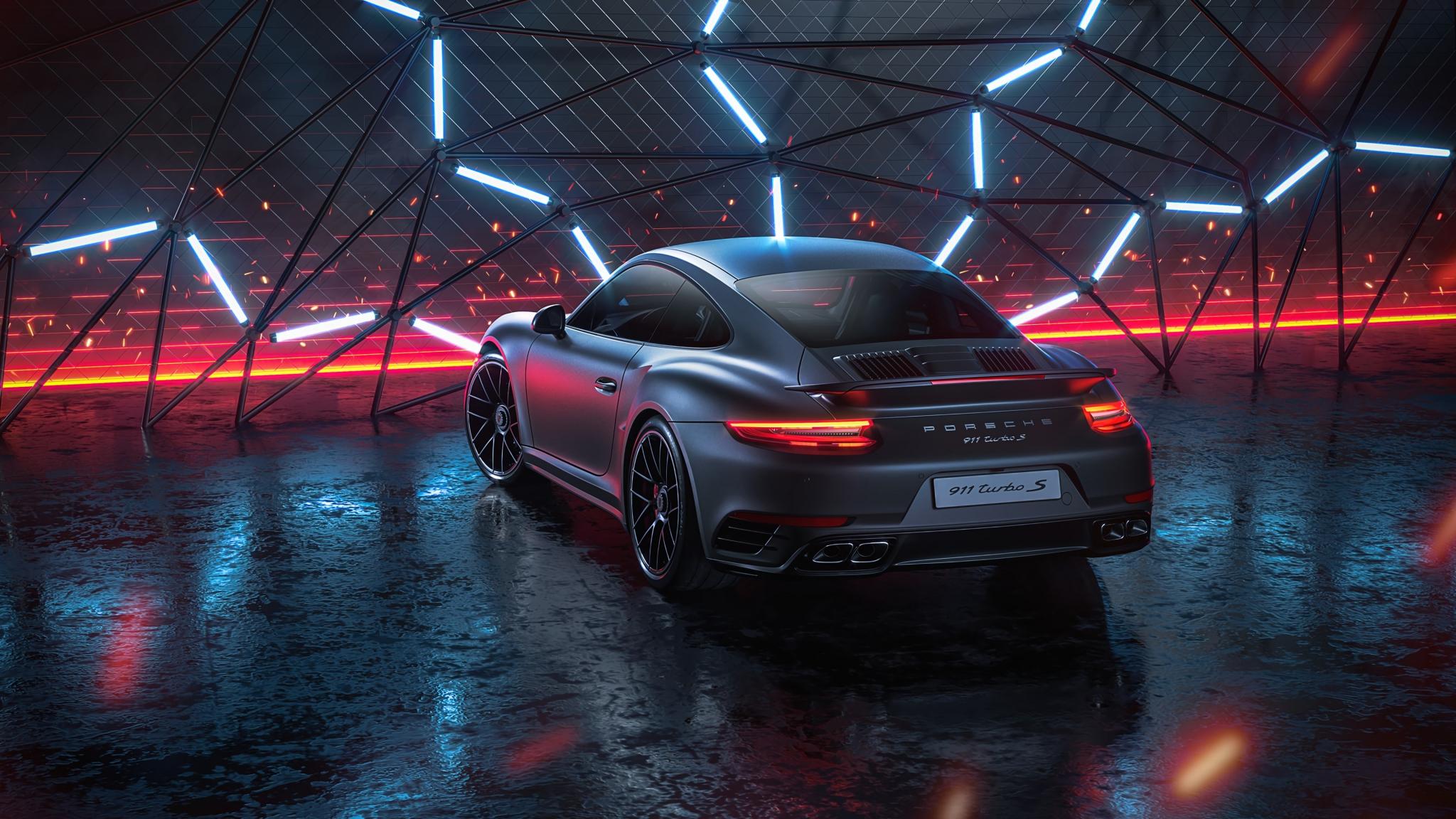 Download 2048x1152 Wallpaper Porsche 911 Turbo S Porsche Car Art Dual Wide Widescreen 2048x1152 Hd Image Background 23225