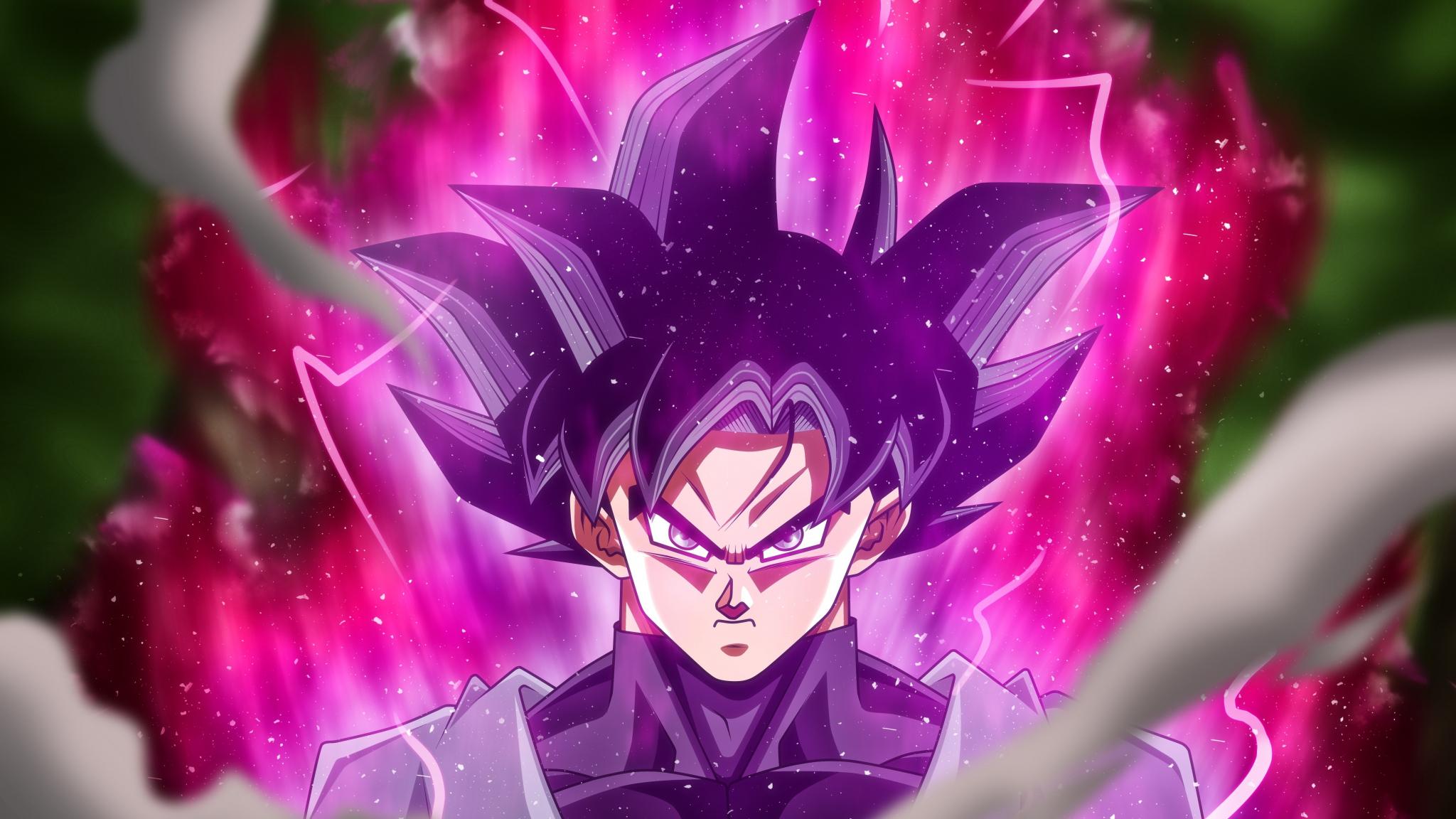 Download 2048x1152 Wallpaper Goku Black Dragon Ball Super