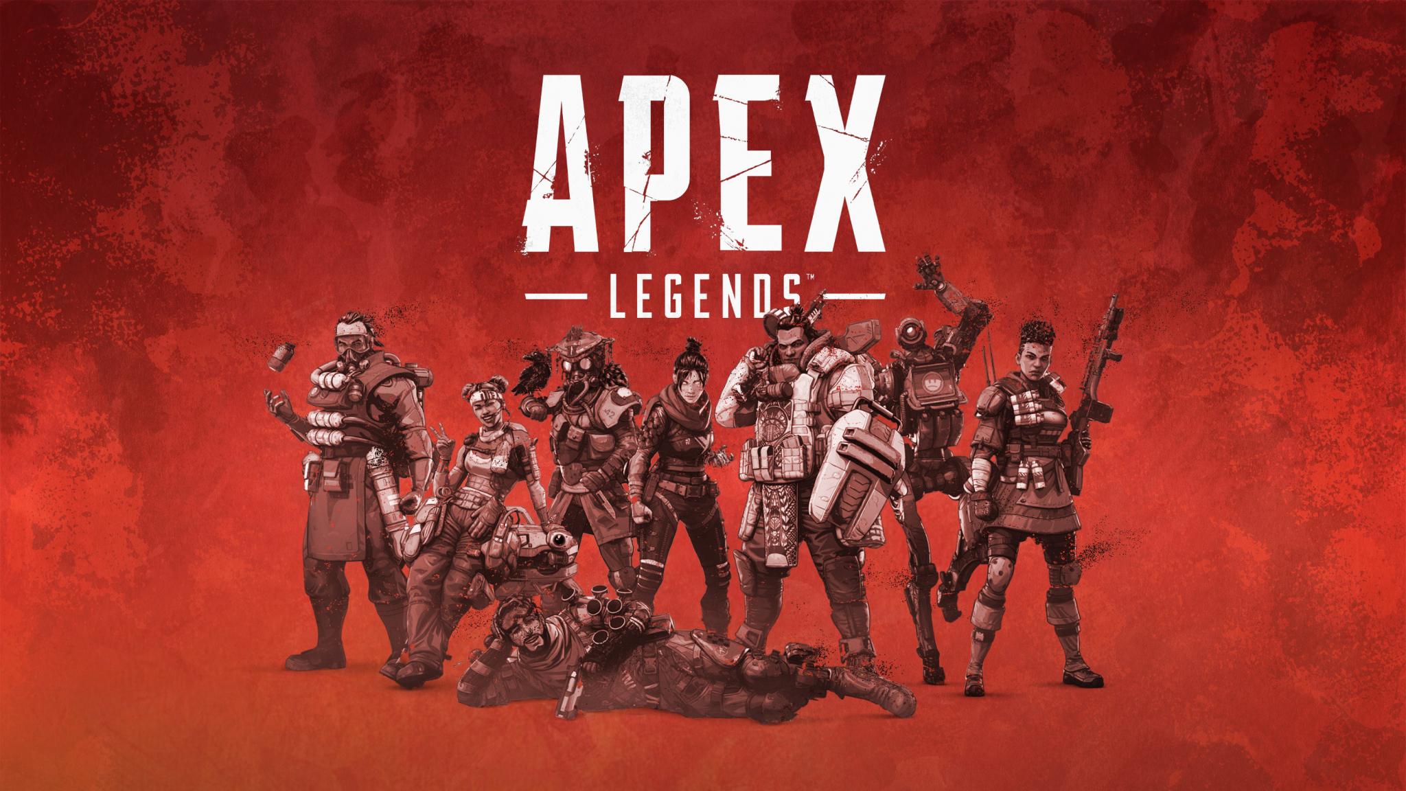Download 2048x1152 wallpaper poster, video game, 2019 apex ...