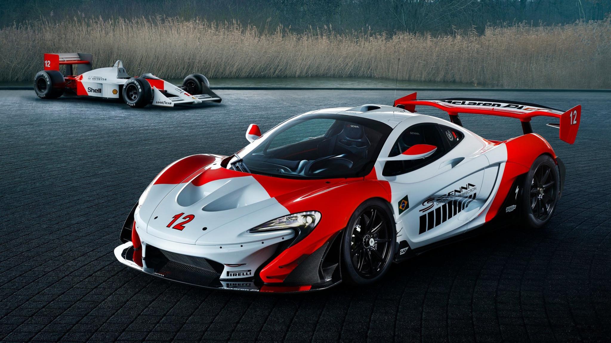 Download 2048x1152 Wallpaper Race Car Mclaren P1 Gtr Dual