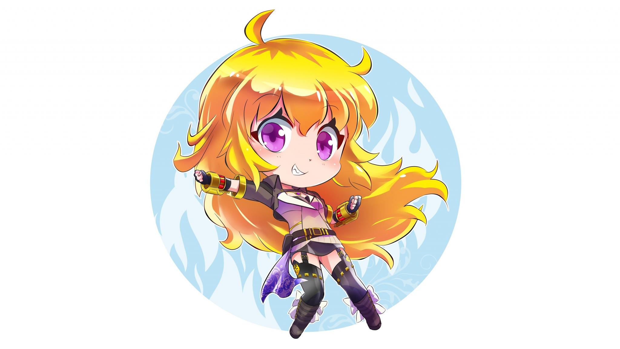Download 2048x1152 Wallpaper Kid Version Anime Girl Yang Xiao