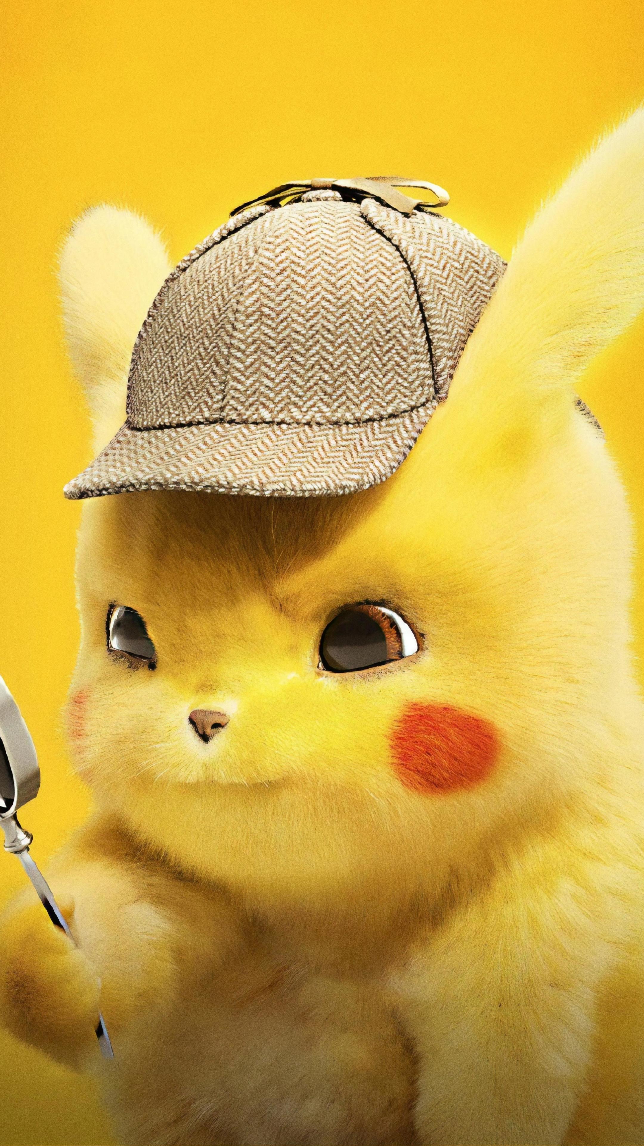Download 2160x3840 wallpaper pikachu, cute, pokemon ...