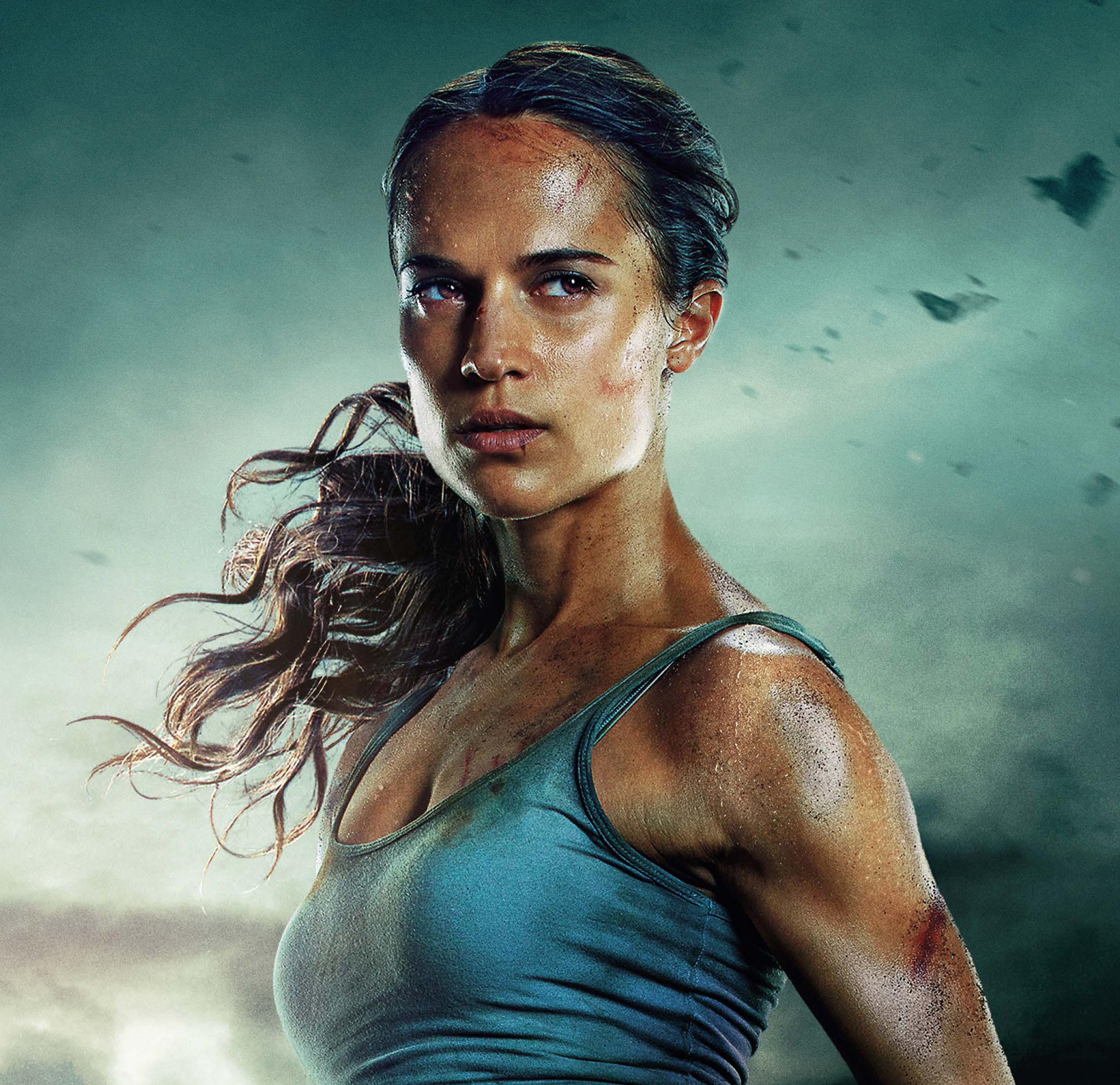 Wallpaper Tomb Raider 2018: Download 2248x2248 Wallpaper Alicia Vikander, Lara Croft