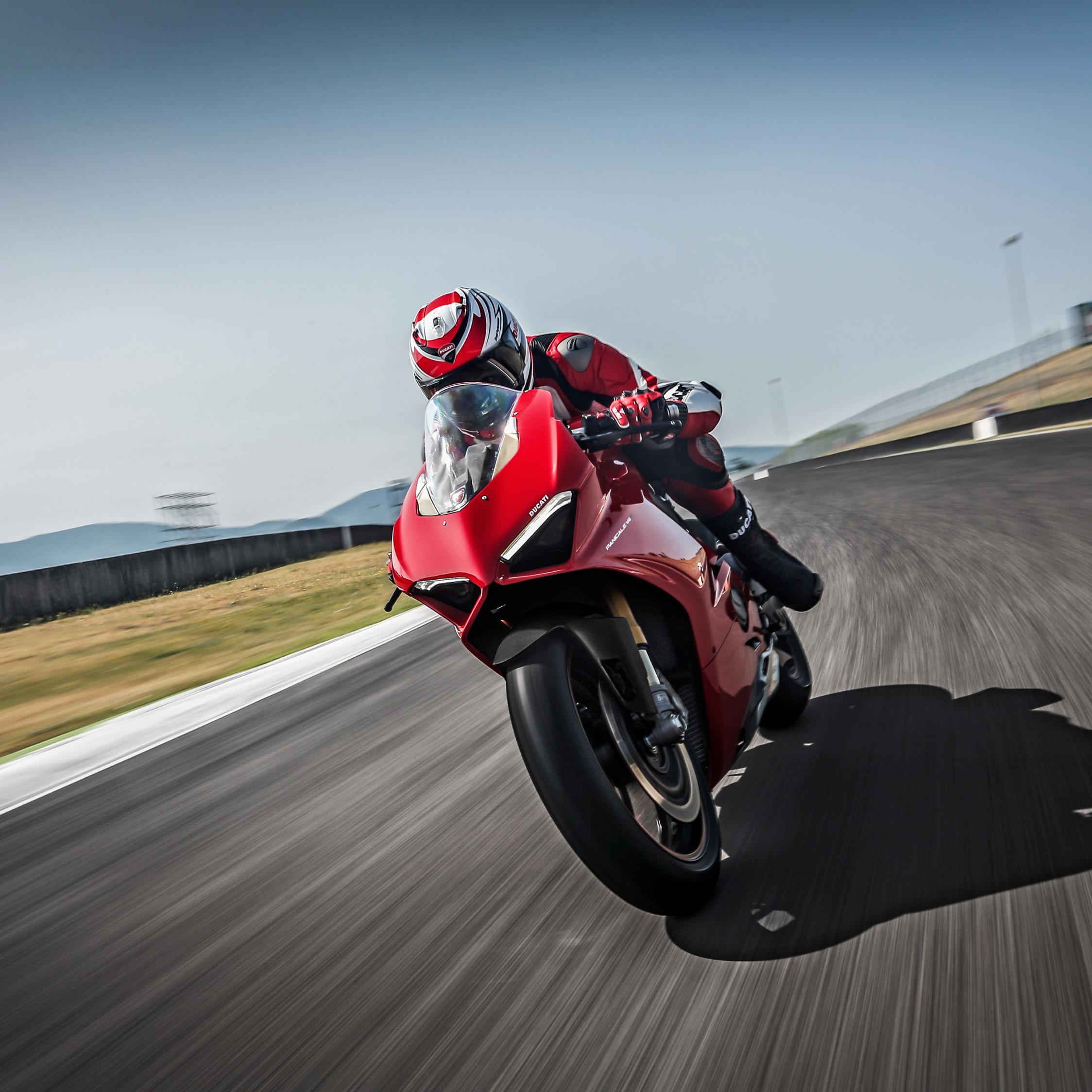 Ducati panigale v4, speciale, 2018, racing bike, 2248x2248 wallpaper