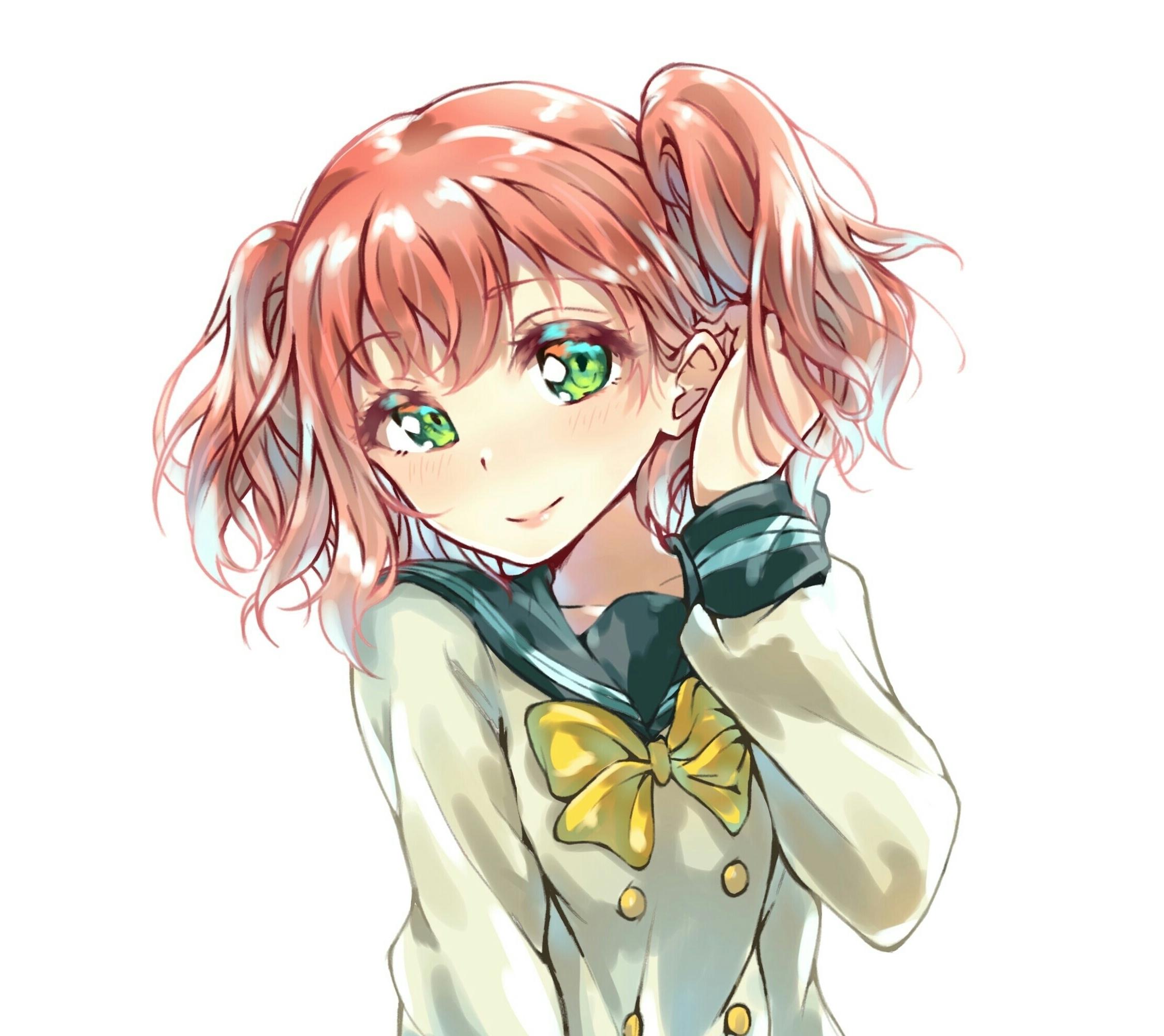 Shy Love Live Ruby Kurosawa Anime Girl 2248x2248 Wallpaper