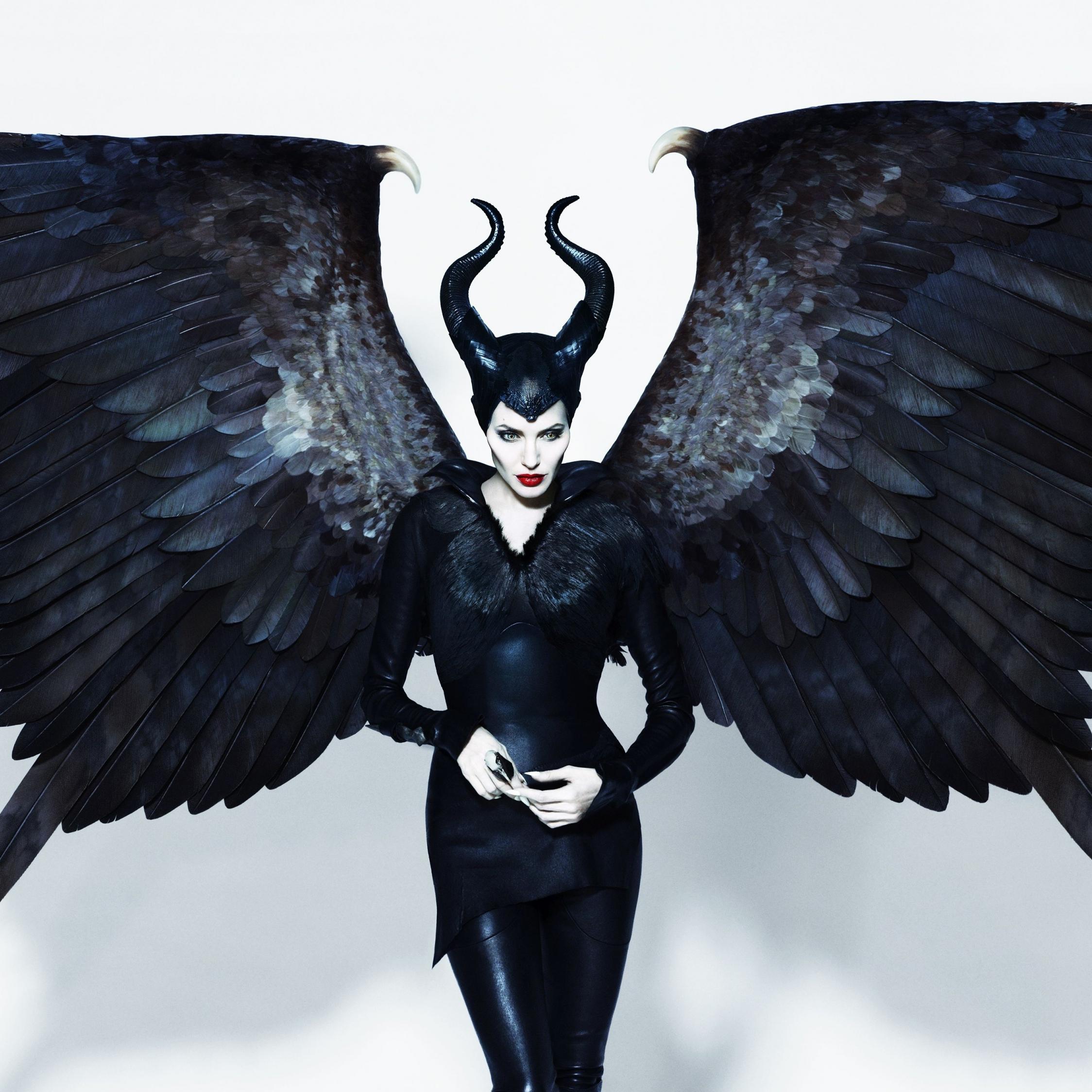Download 2248x2248 Wallpaper Maleficent Angelina Jolie