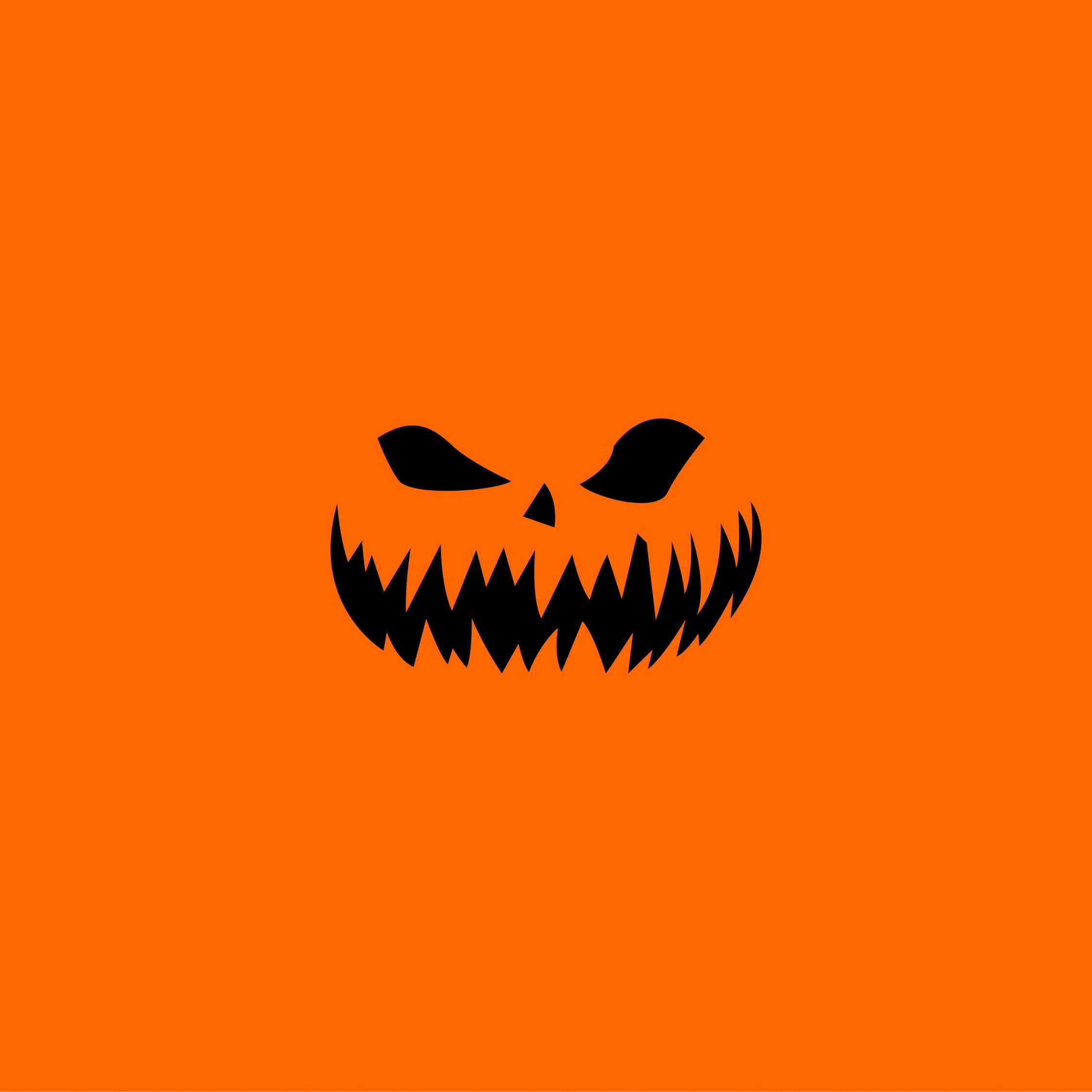 Download 2248x2248 Wallpaper Halloween Minimal Ipad Air