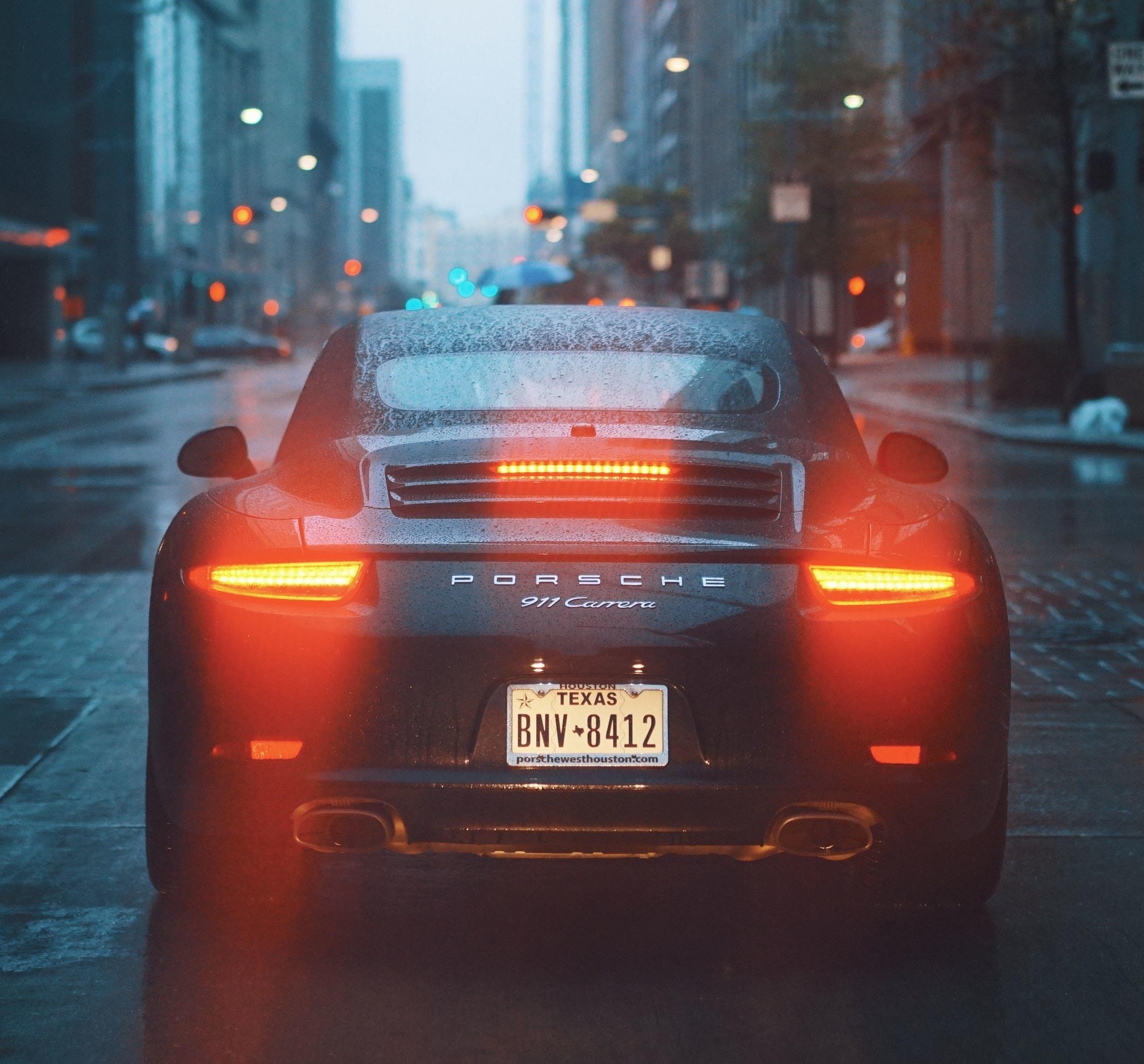 Download 2248x2248 Wallpaper Porsche 911 Carrera S Rear On