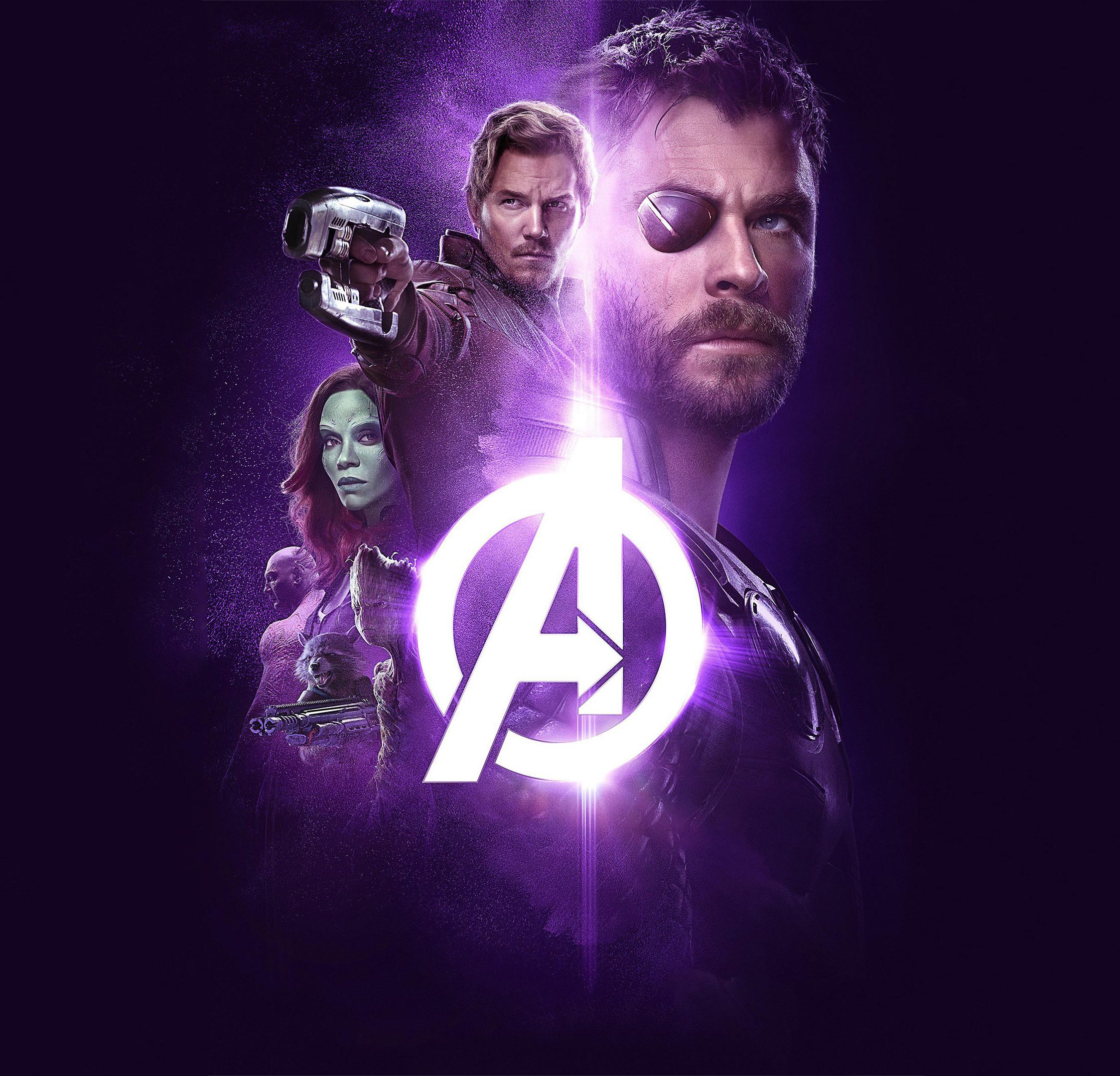 Simple Wallpaper Movie Ipad - avengers-infinity-war-2018-power-stone-poster-4k  HD_38584.jpg