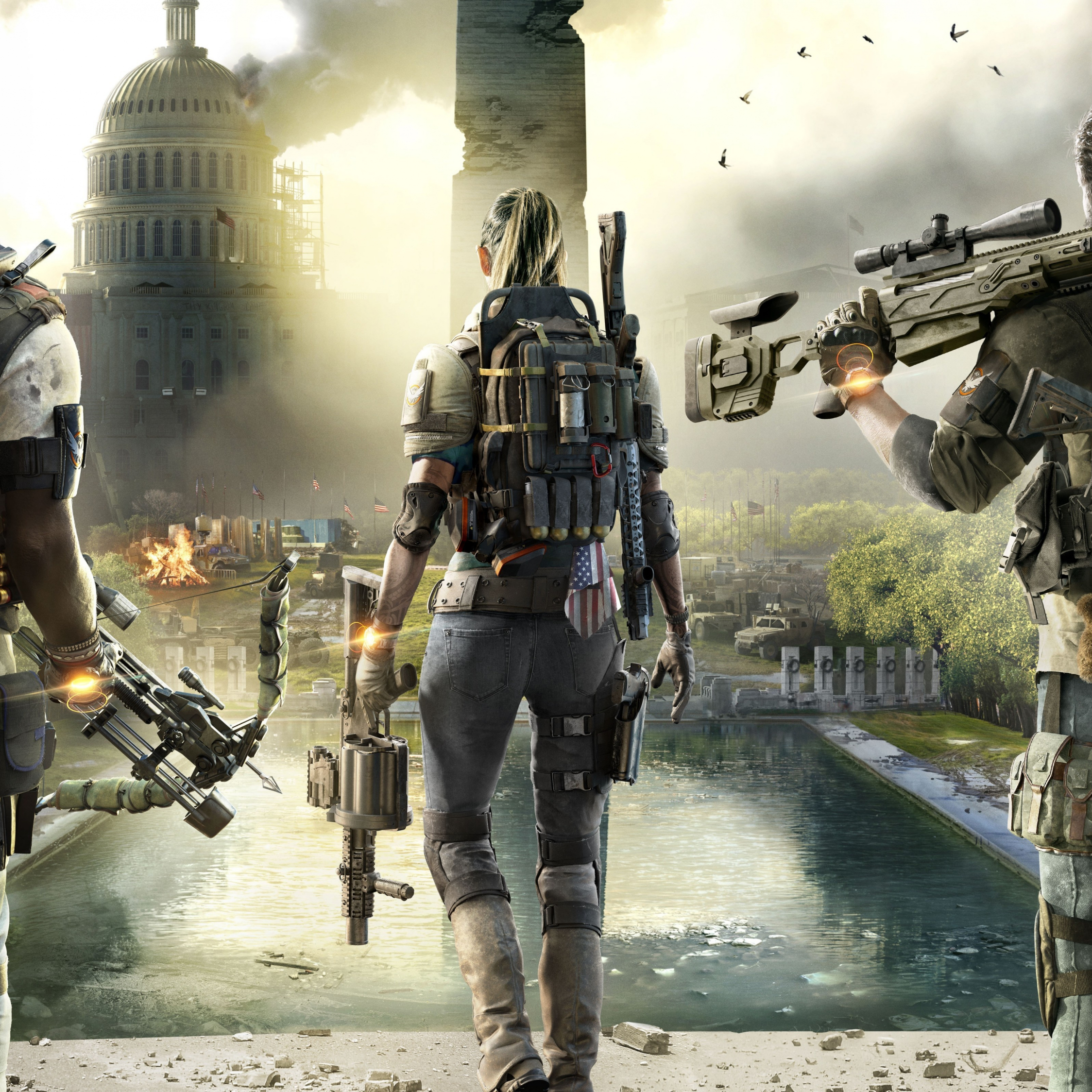 Download 2248x2248 Wallpaper Tom Clancy S The Division 2 2019