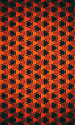 Patterns, flowers, shapes, abstract, 240x400 wallpaper
