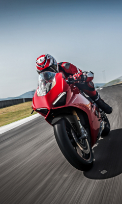 Ducati panigale v4, speciale, 2018, racing bike, 240x400 wallpaper