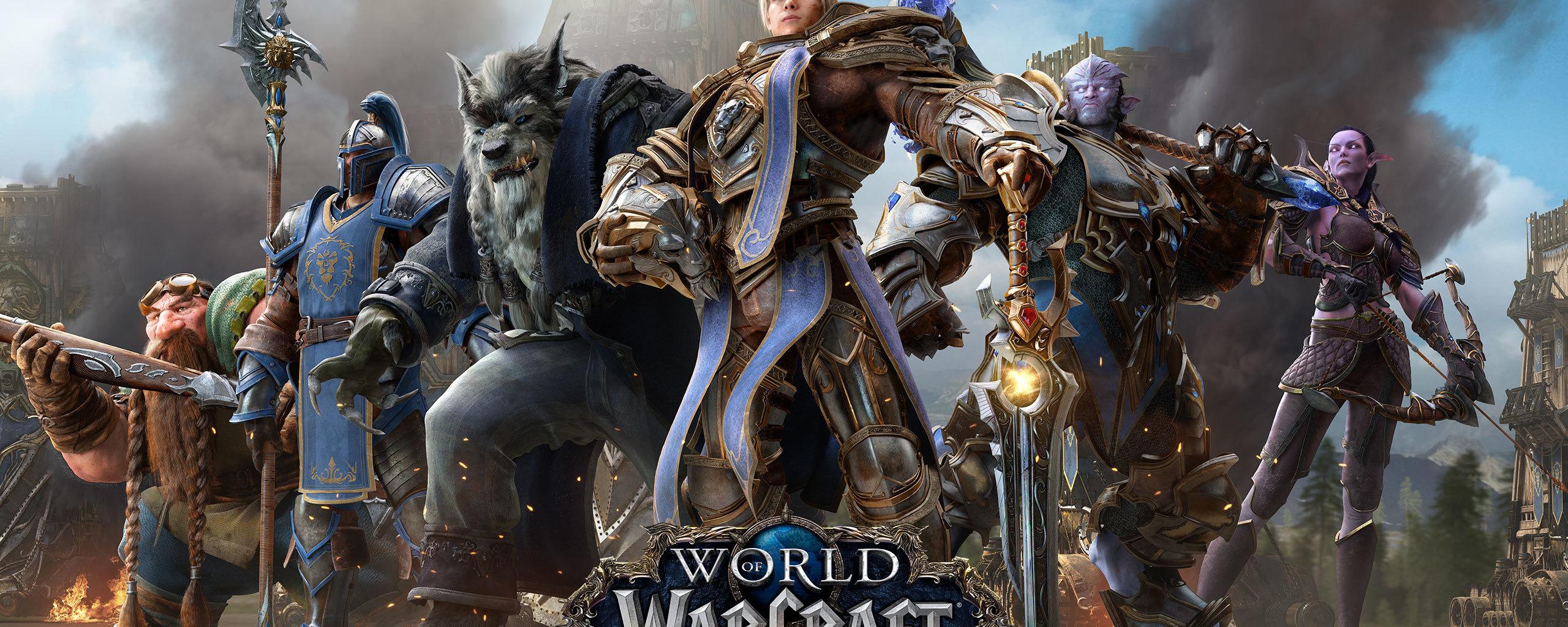 Download 2560x1024 Wallpaper World Of Warcraft Battle For