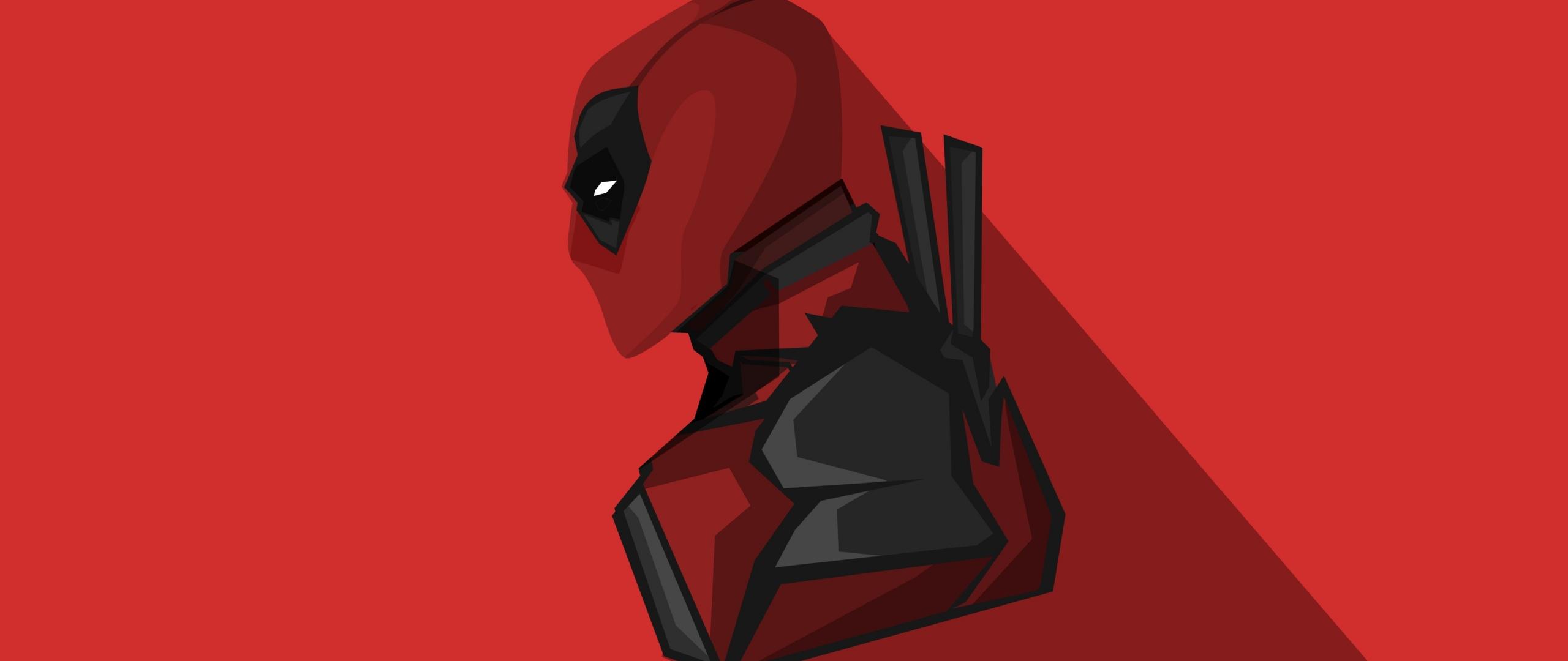 Download 2560x1080 Wallpaper Deadpool Marvel Comics