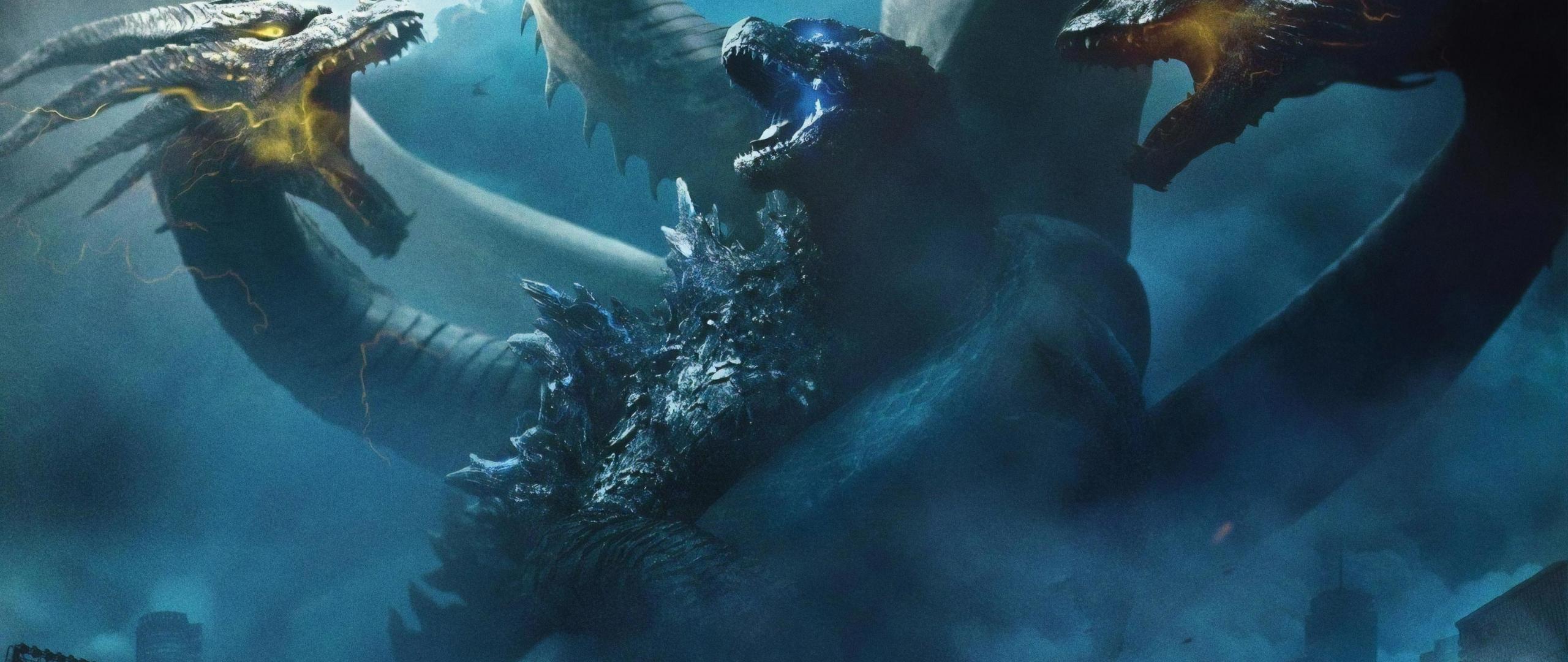 Download 2560x1080 Wallpaper 2019 Movie Godzilla King Of The
