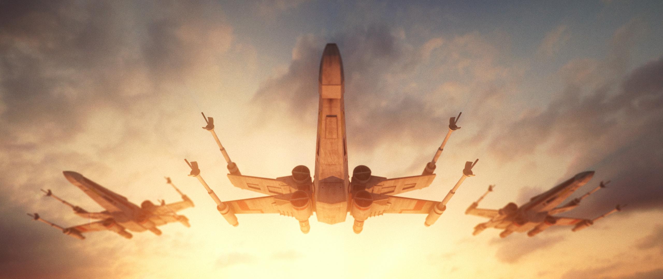 Download 2560x1080 Wallpaper Spacecrafts Star Wars Video Game X