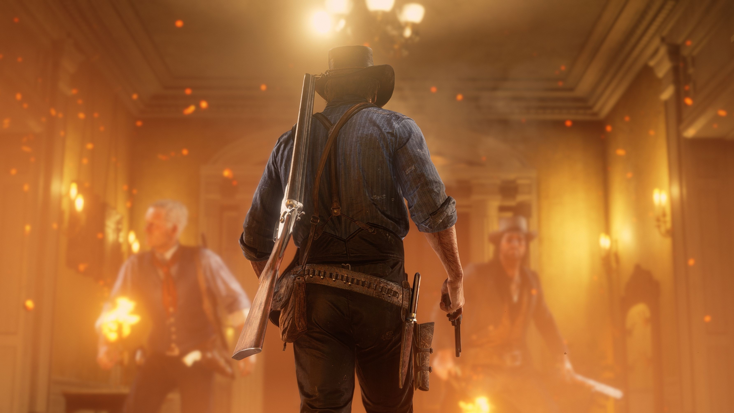 Download 2560x1440 Wallpaper Red Dead Redemption 2 Video Game