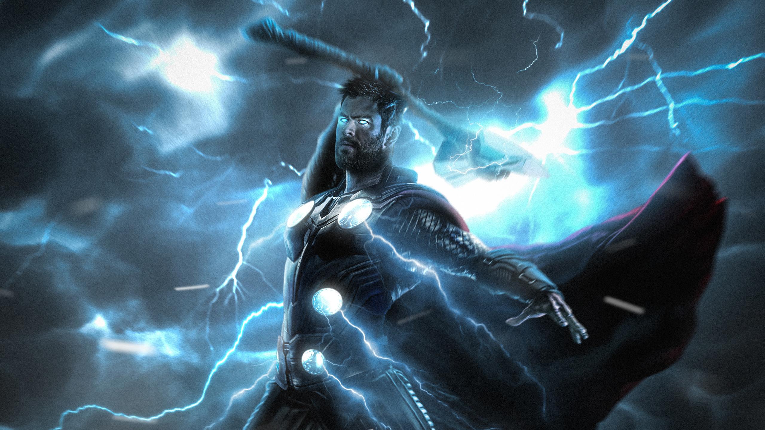 Download 2560x1440 Wallpaper Thor Lightning Strike Superhero Dual Wide Widescreen 16 9 Widescreen 2560x1440 Hd Image Background 15295