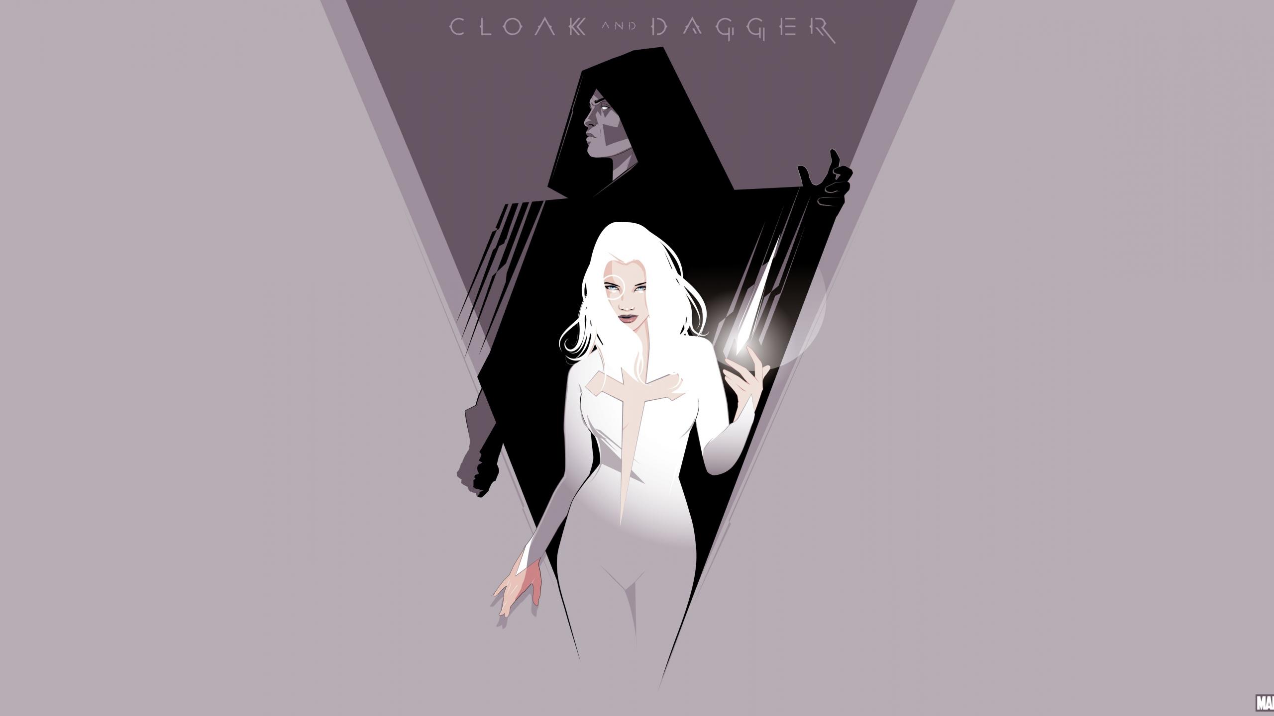 Download 2560x1440 Wallpaper Cloak Dagger Marvel Tv Show