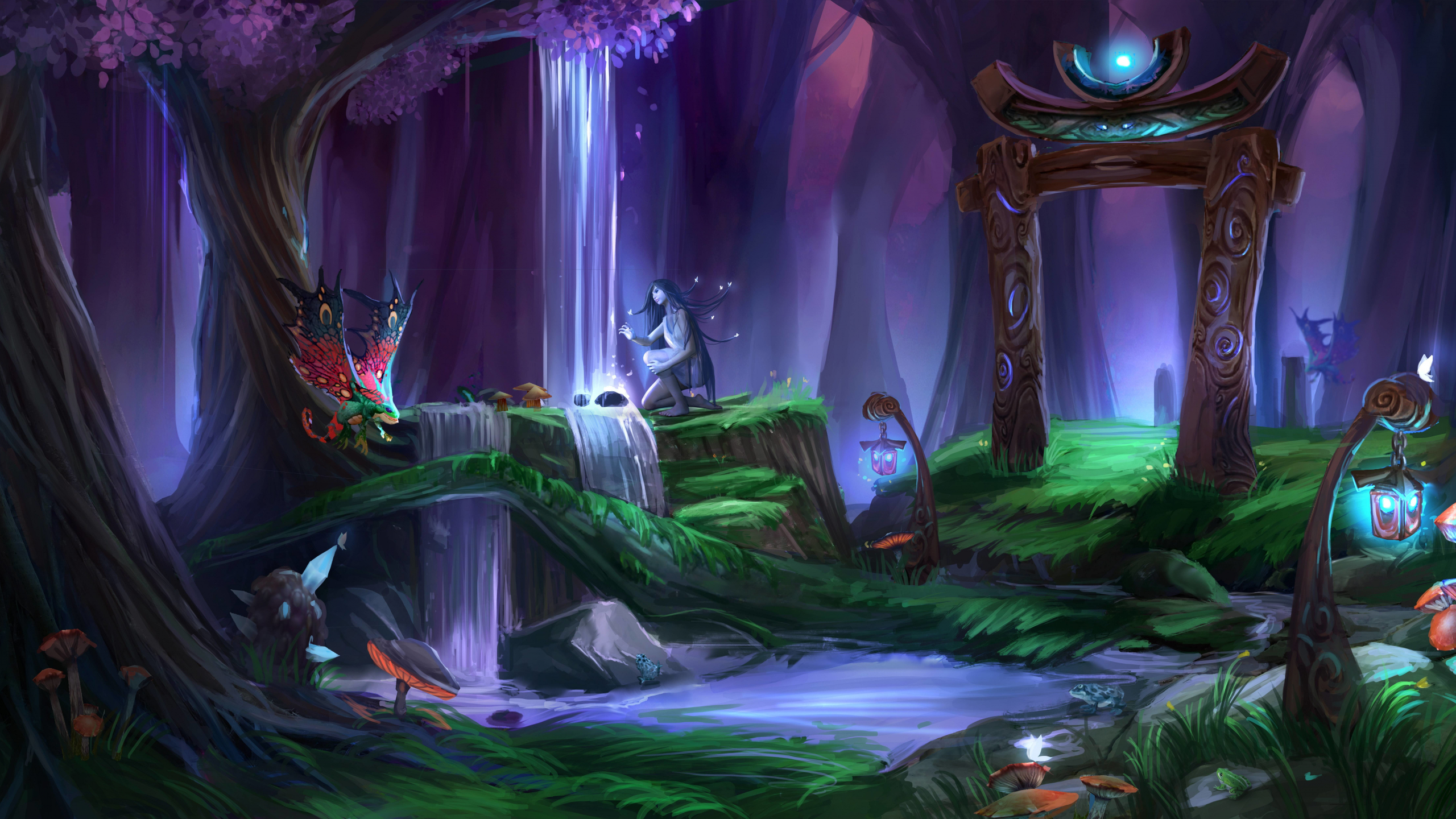 Download 2560x1440 Wallpaper World Of Warcraft Online Game Video Game Digital At Dual Wide Widescreen 16 9 Widescreen 2560x1440 Hd Image Background 1503