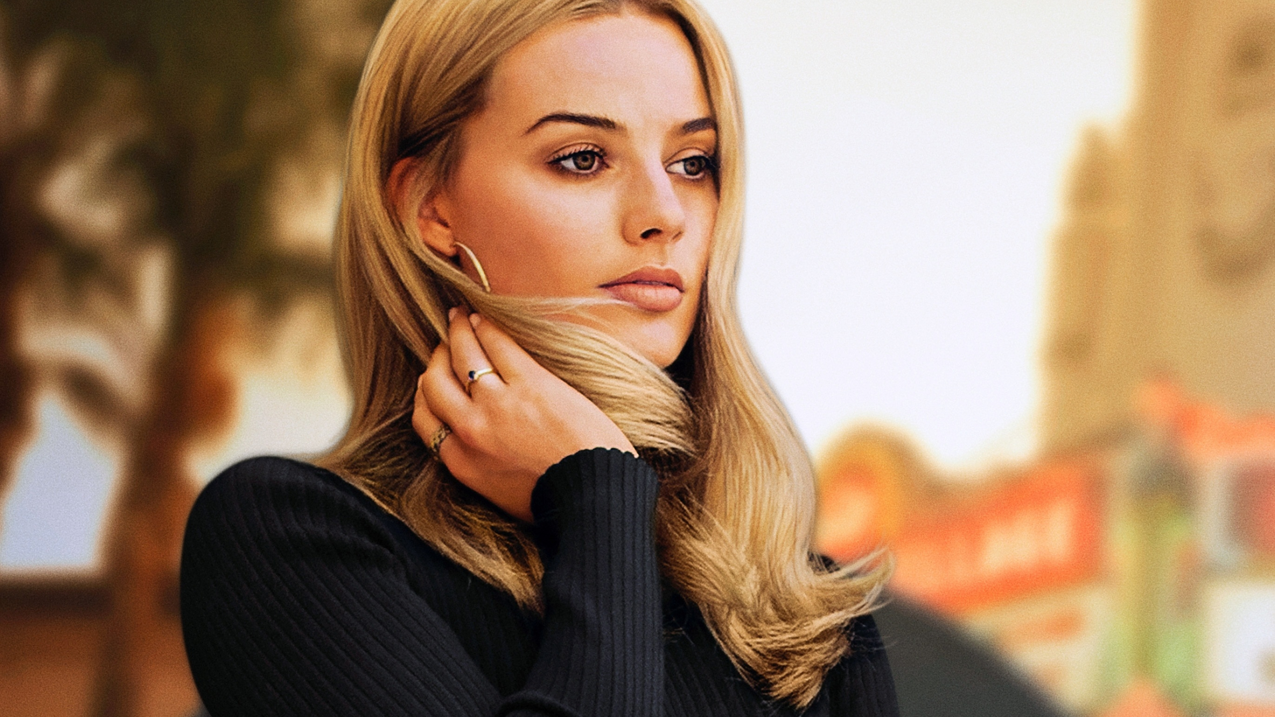 Download 2560x1440 Wallpaper Margot Robbie Once Upon A Time In