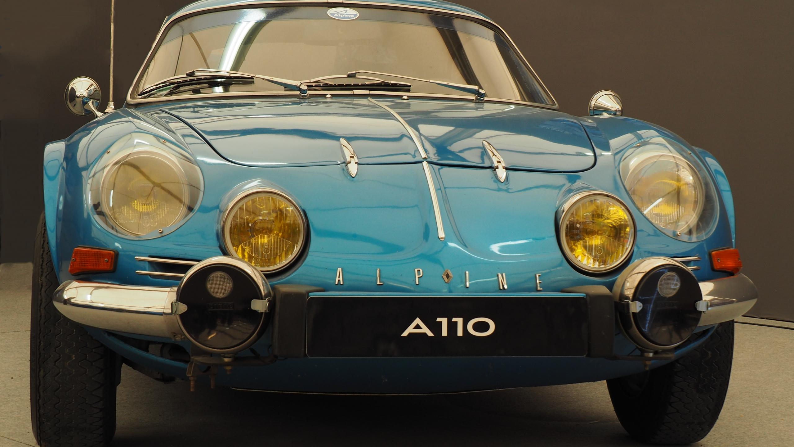 Download 2560x1440 Wallpaper Alpine A110, Classic Car