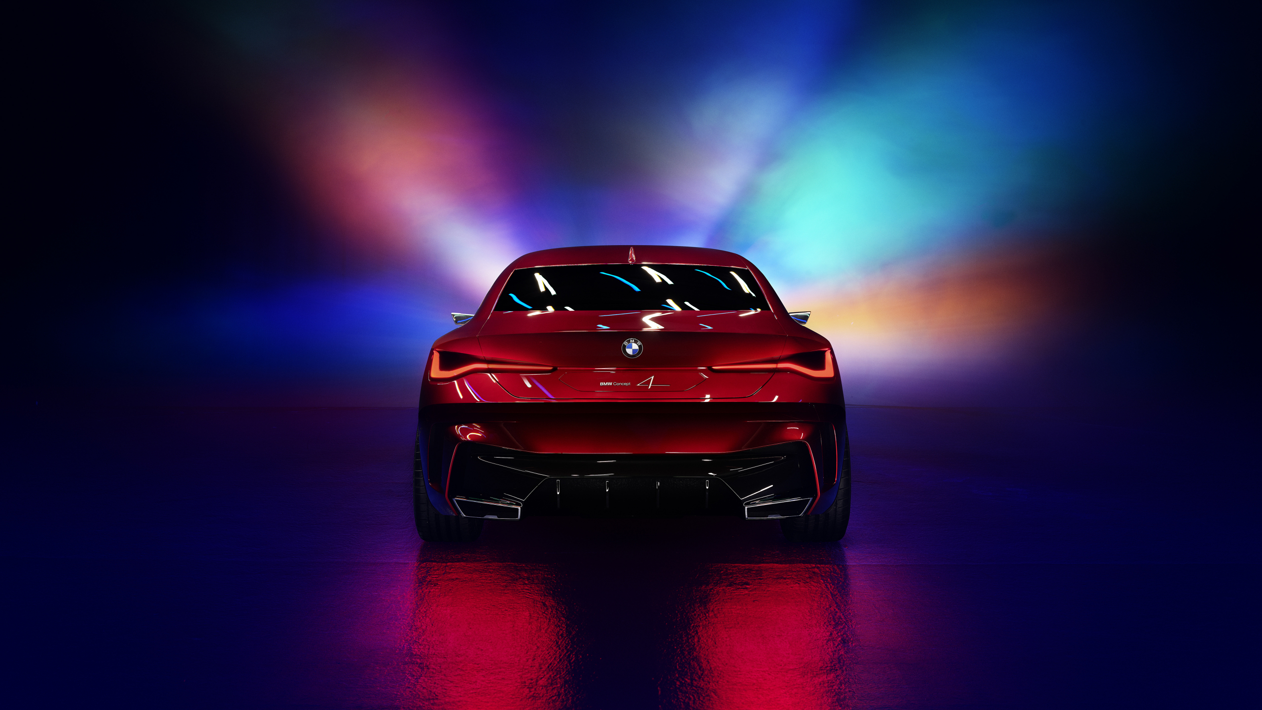 Download 2560x1440 Wallpaper Bmw Concept 4 Car Rear View Dual Wide Widescreen 16 9 Widescreen 2560x1440 Hd Image Background 22746