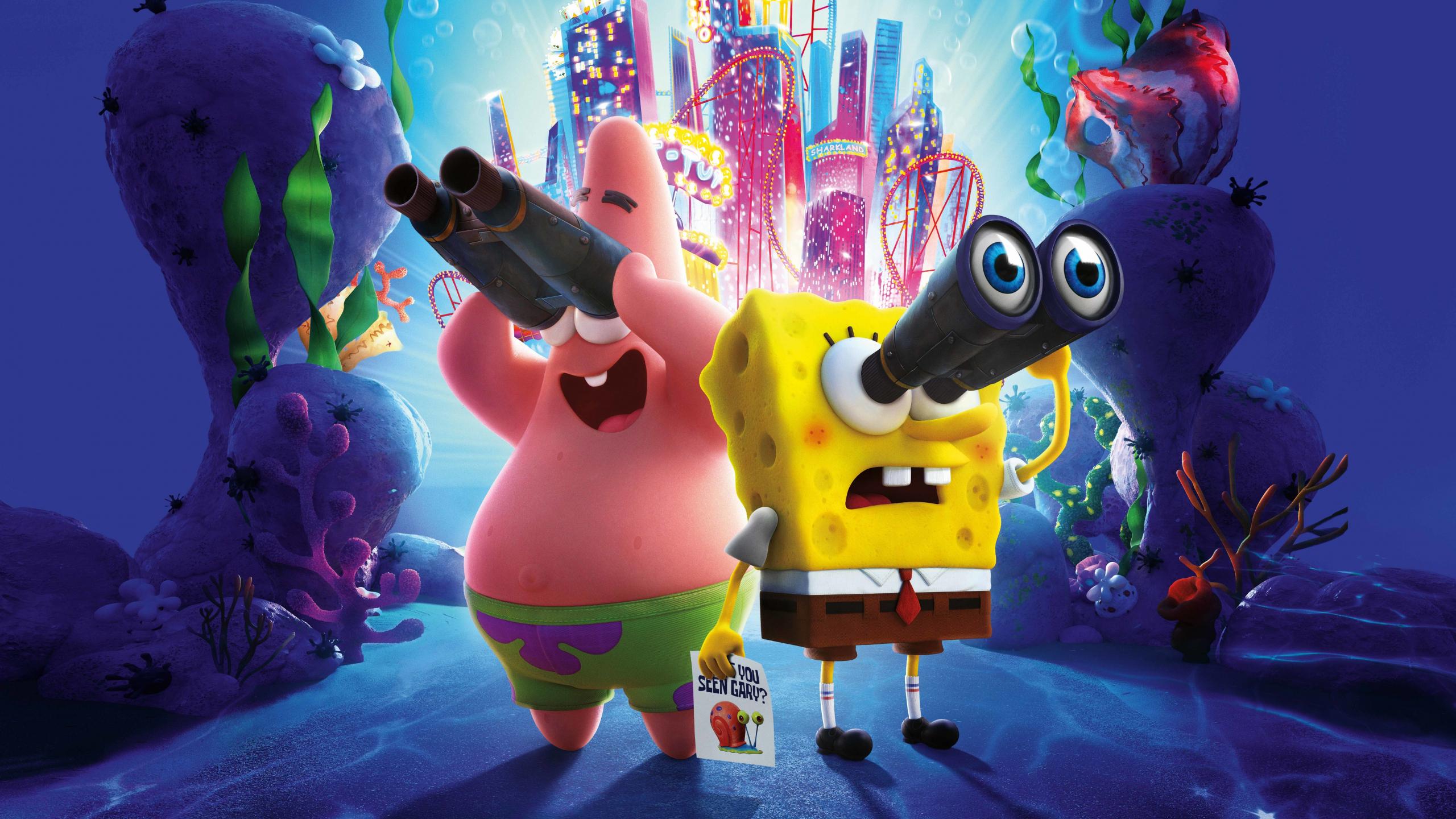 Download 2560x1440 Wallpaper The Spongebob Movie Sponge On The Run 2020 Movie Dual Wide Widescreen 16 9 Widescreen 2560x1440 Hd Image Background 24201