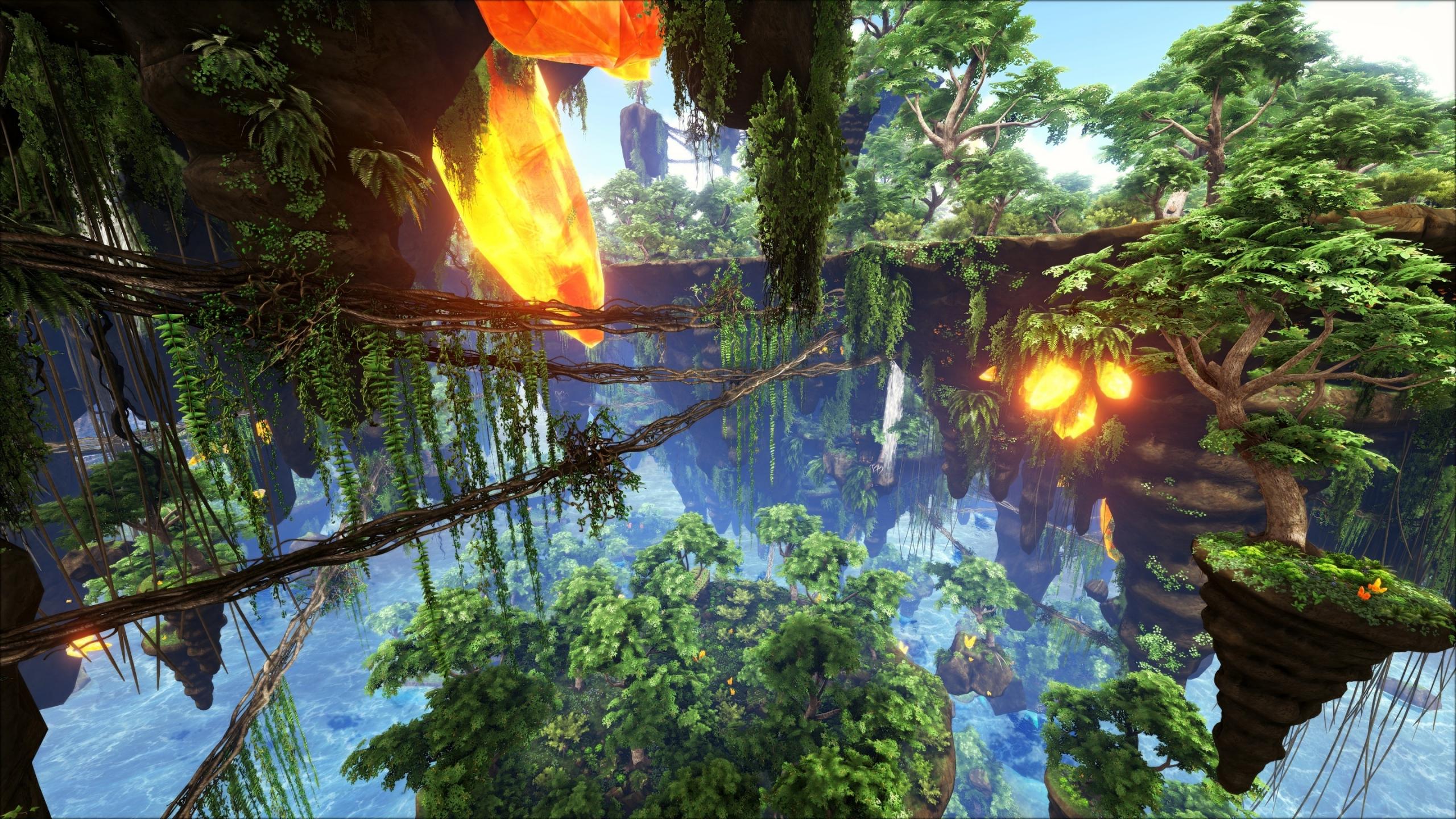 Download 2560x1440 Wallpaper Pandora Nature Ark Survival