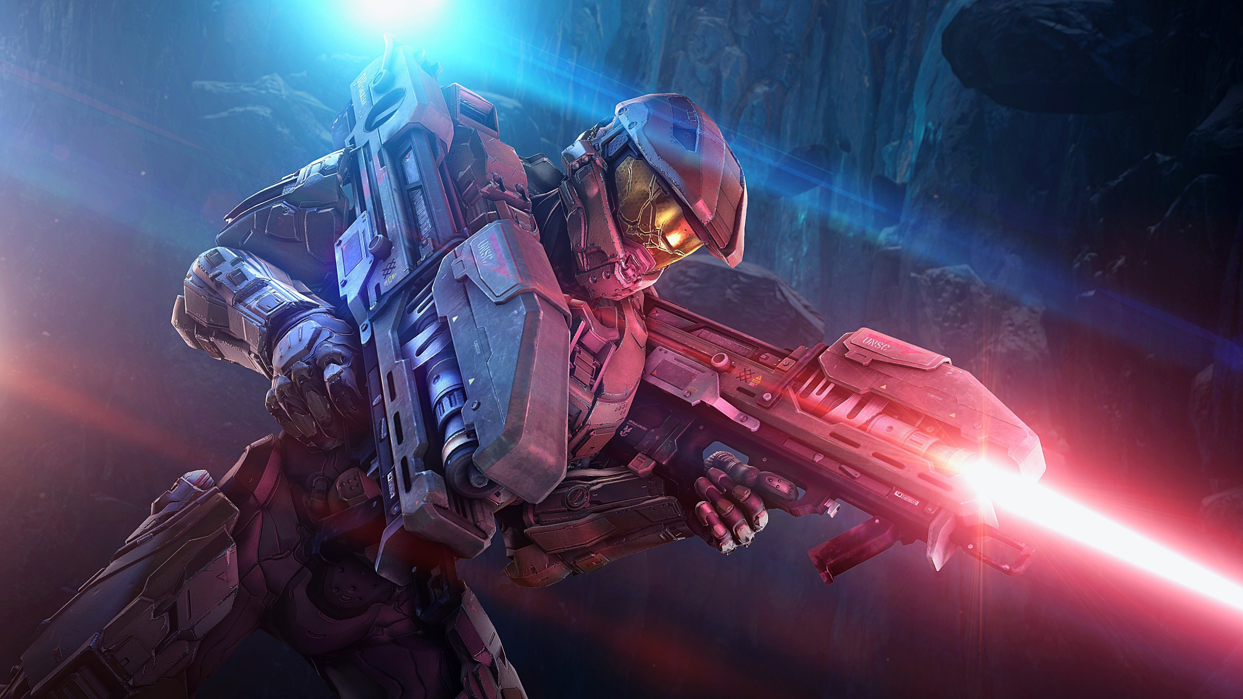 Download 2560x1440 Wallpaper Master Chief Modern Armour