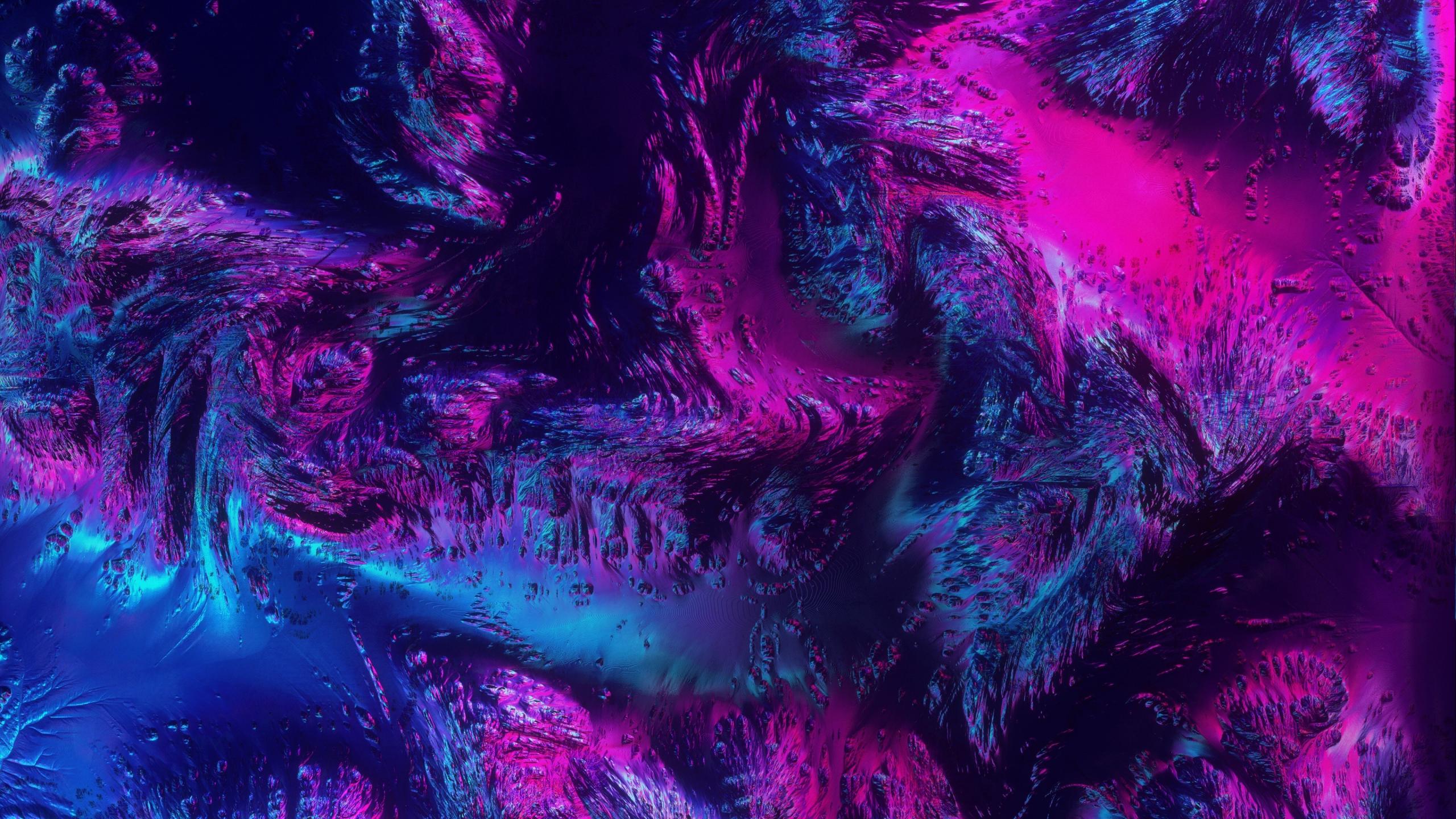 Download 2560x1440 Wallpaper Neon Texture Abstract Dark Art Dual Wide Widescreen 16 9 Widescreen 2560x1440 Hd Image Background 16366