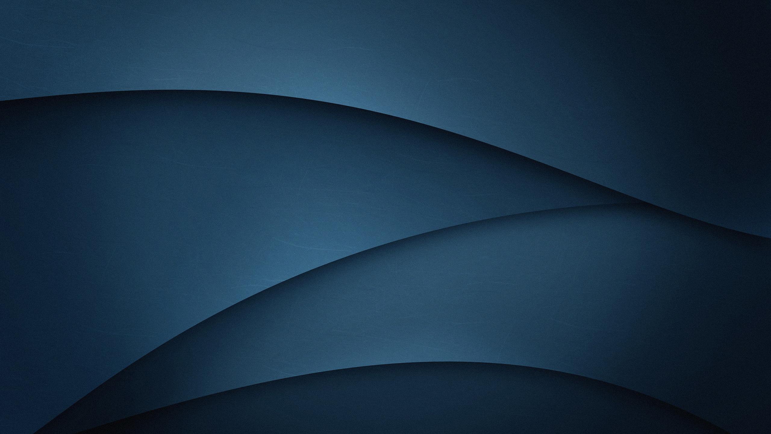 Download 2560x1440 wallpaper dark blue, gradient, abstract ...