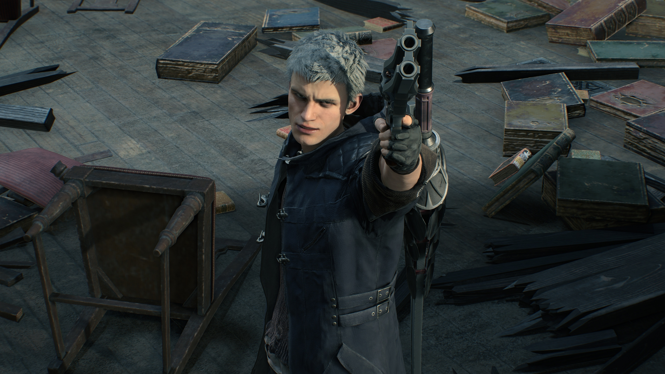 Download 2560x1440 Wallpaper Devil May Cry 5 Video Game