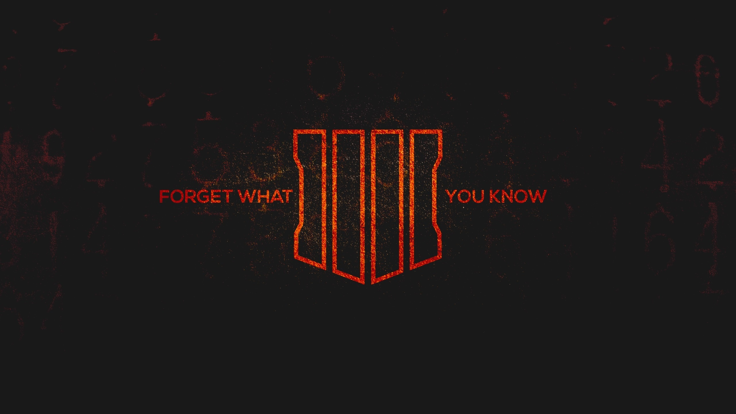 Download 2560x1440 Wallpaper Call Of Duty Black Ops 4 Poster