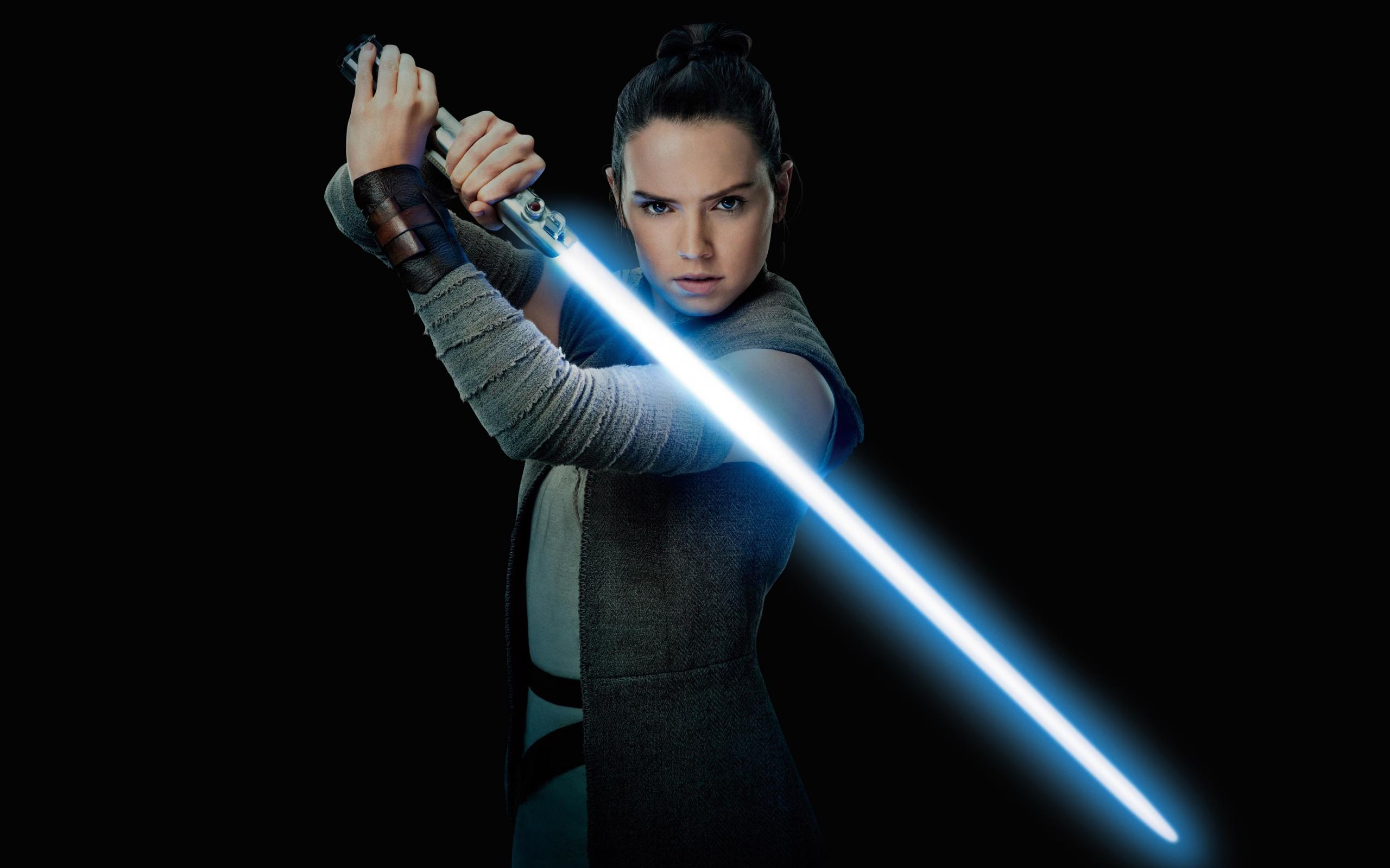Daisy Ridley Rey Star Wars The Last Jedi Movie Actress