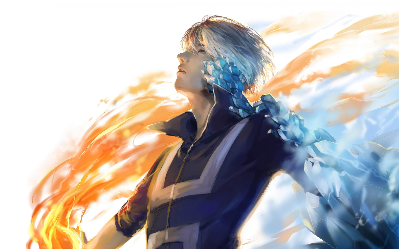 Download 2880x1800 wallpaper anime boy, artwork, shouto ...